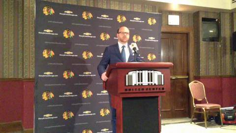Hawks GM Bowman talks