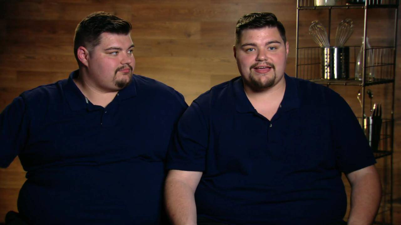 Wauconda twins on Food Network