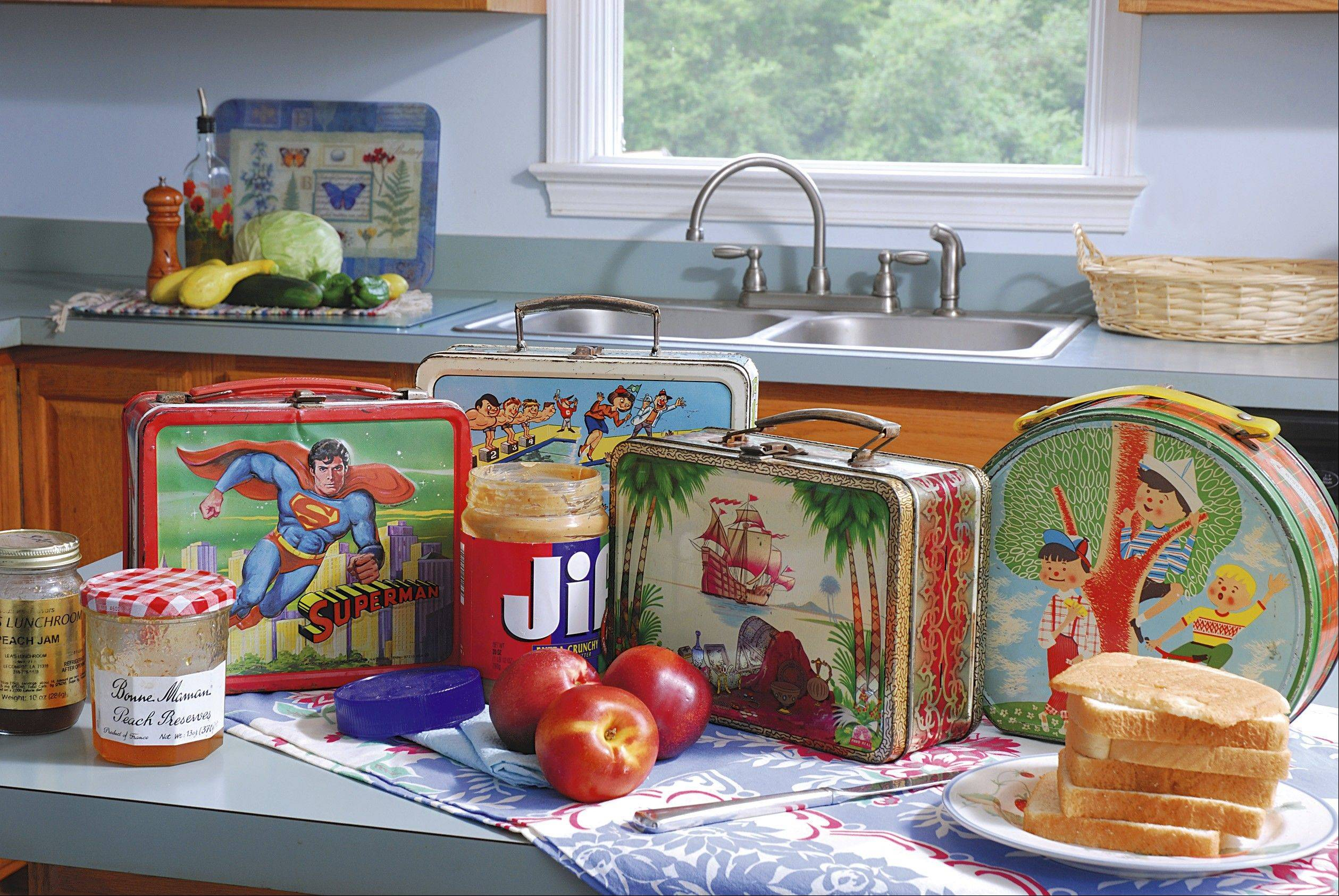 Poll Vault: What was in -- and on -- your school lunchbox?