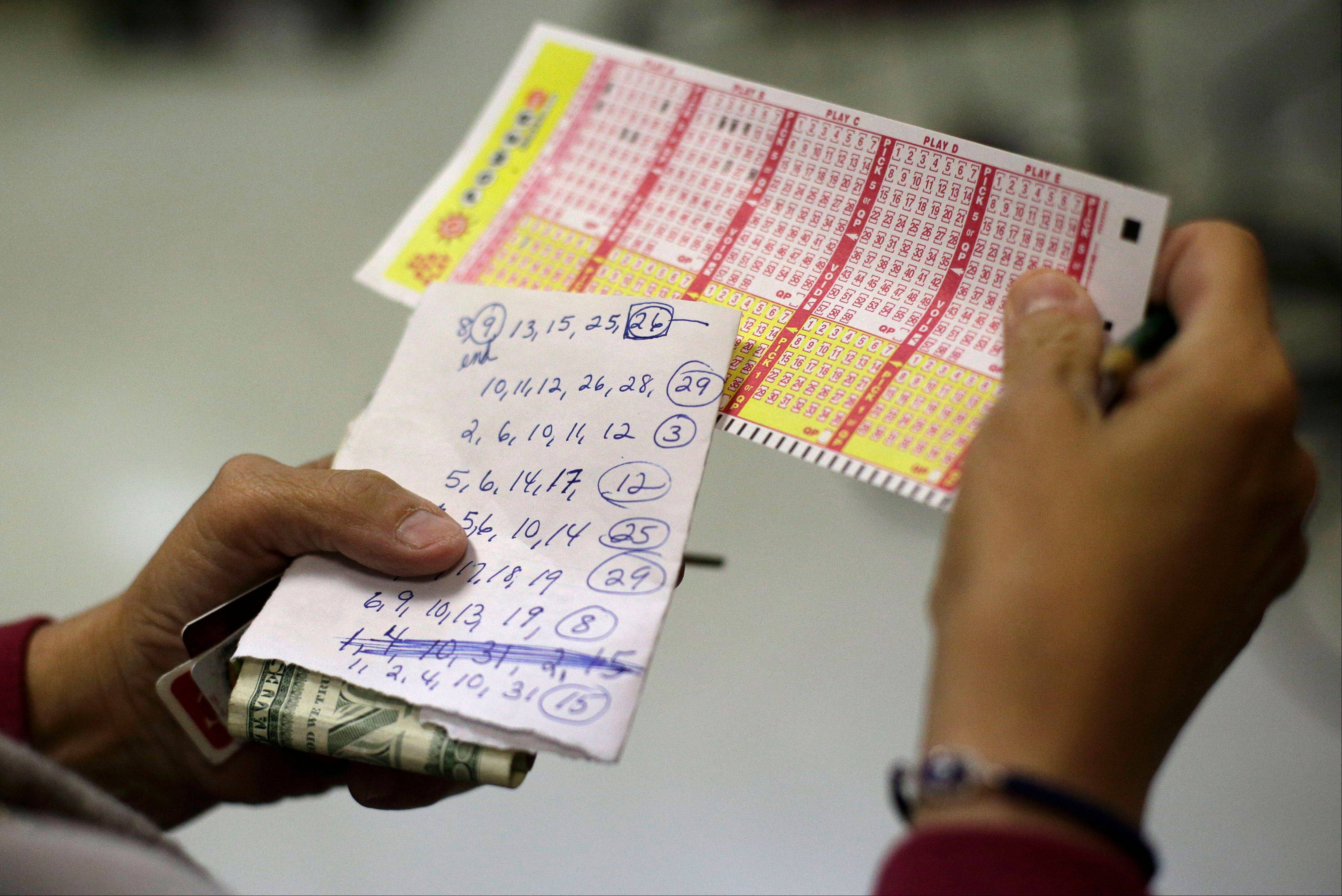 Poll Vault: Do you play specific lottery numbers?