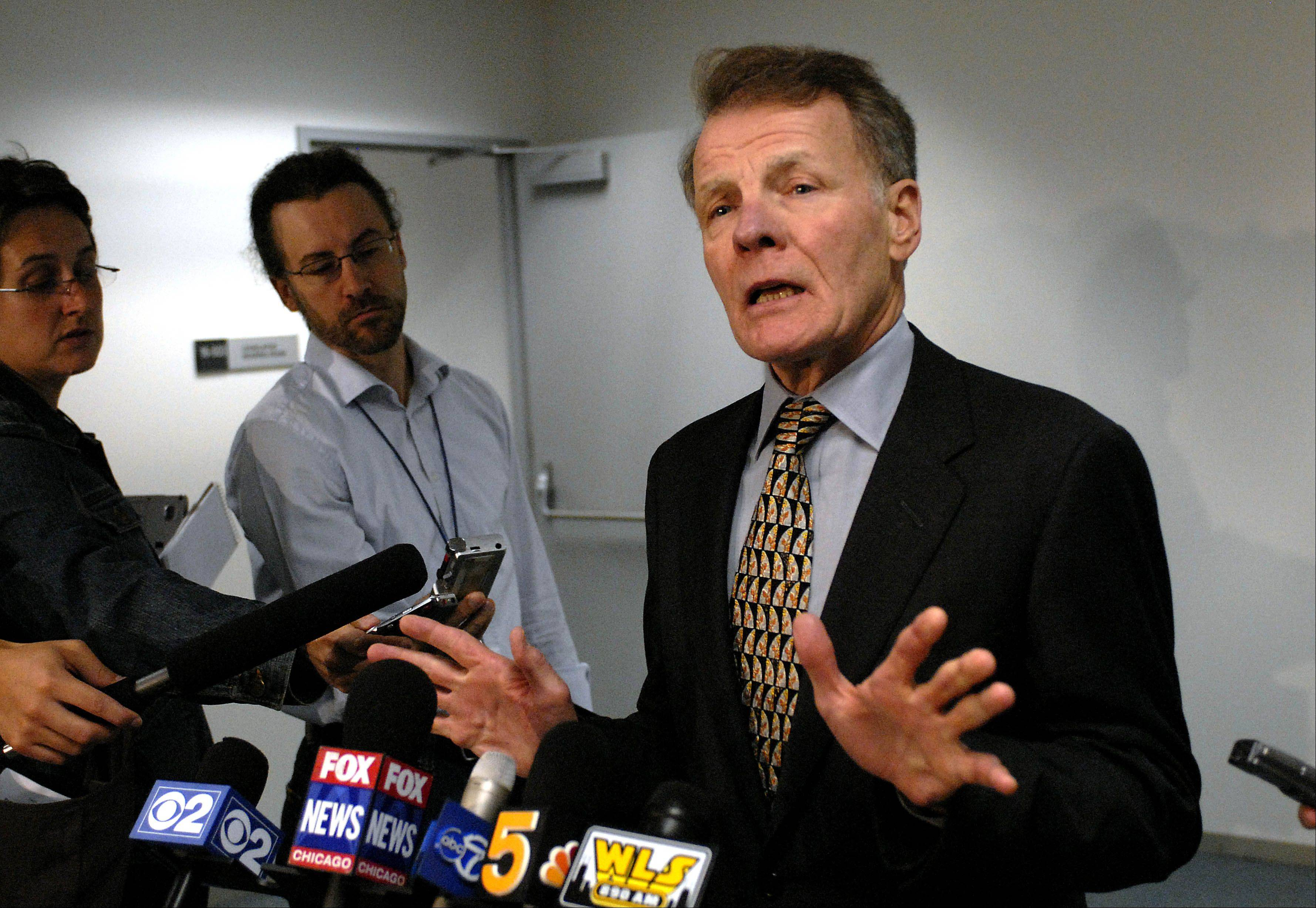 Could Madigan's pension move bust gridlock?