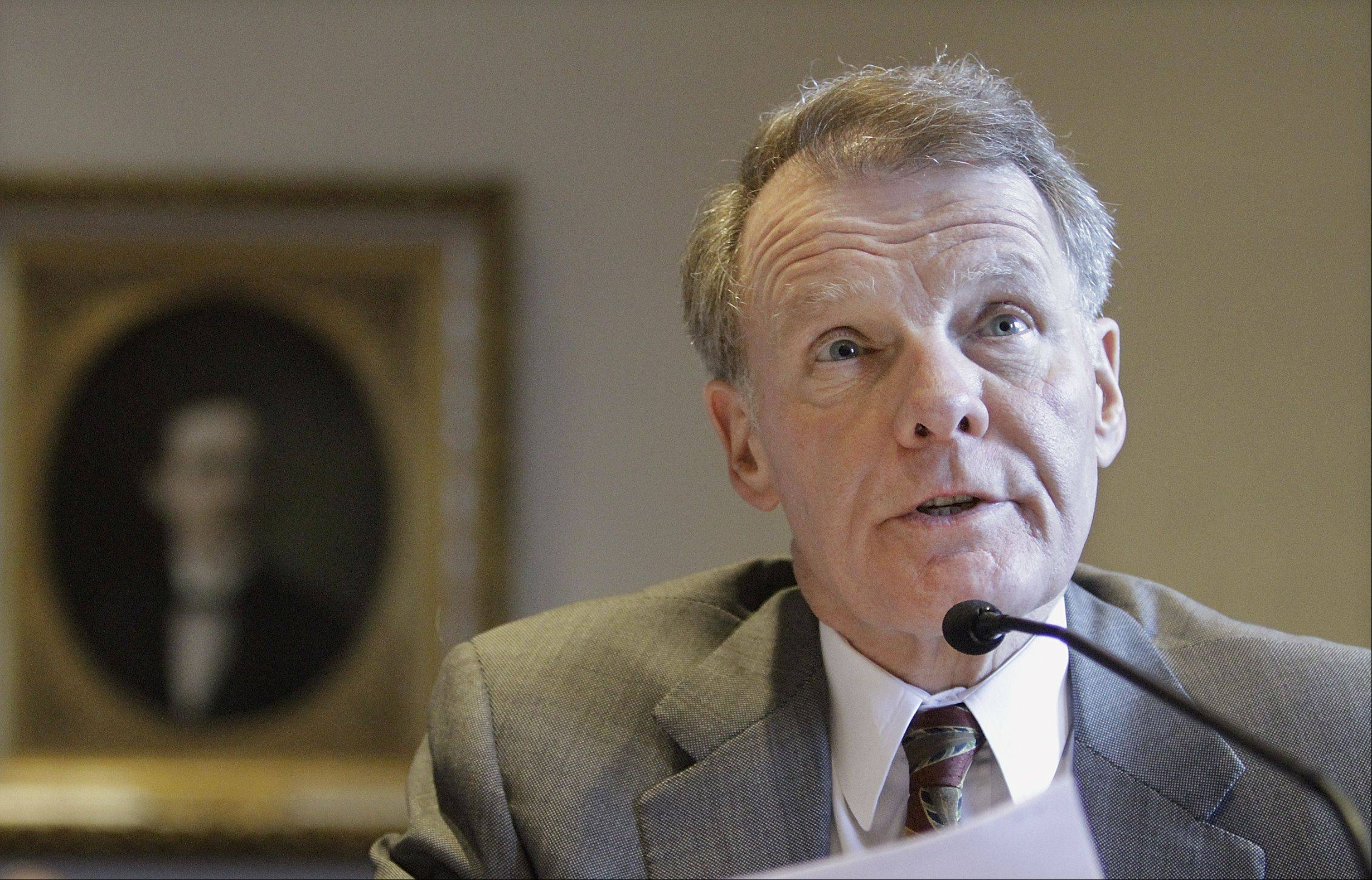 Madigan: Putting pension costs on schools 'going to happen'