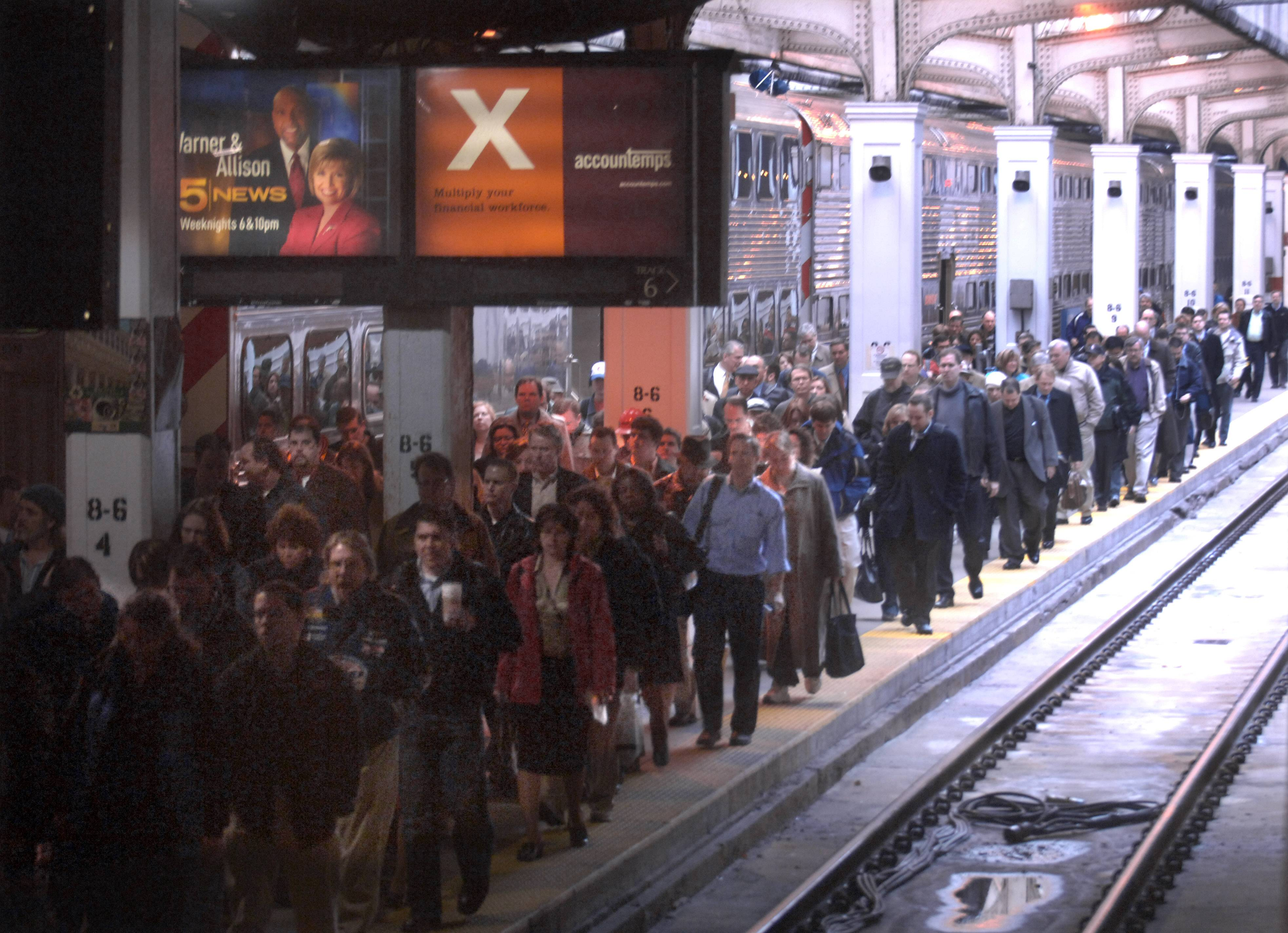 Chicago's Union Station is crowded enough under normal conditions.