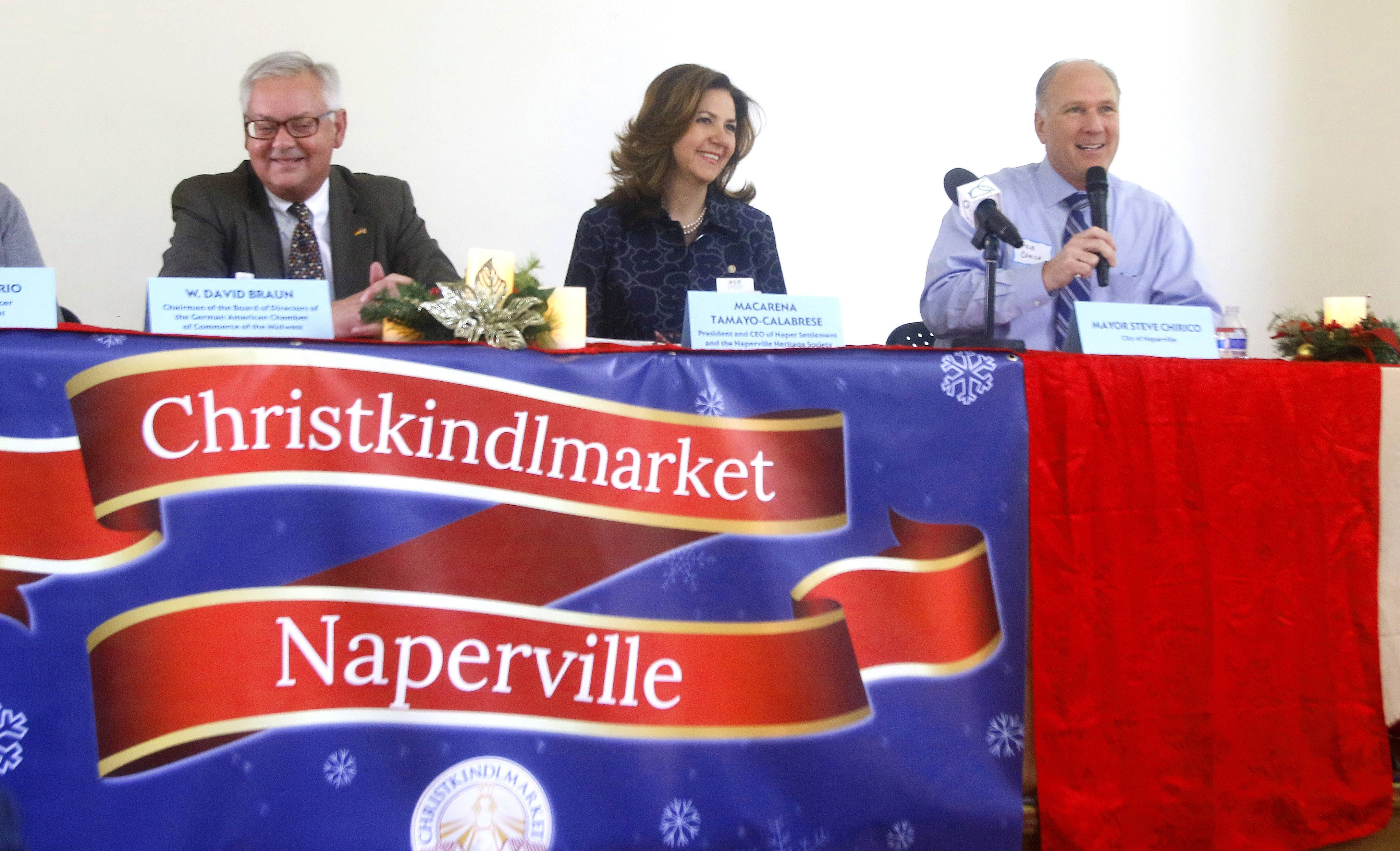 Christkindlmarket coming to Naper Settlement
