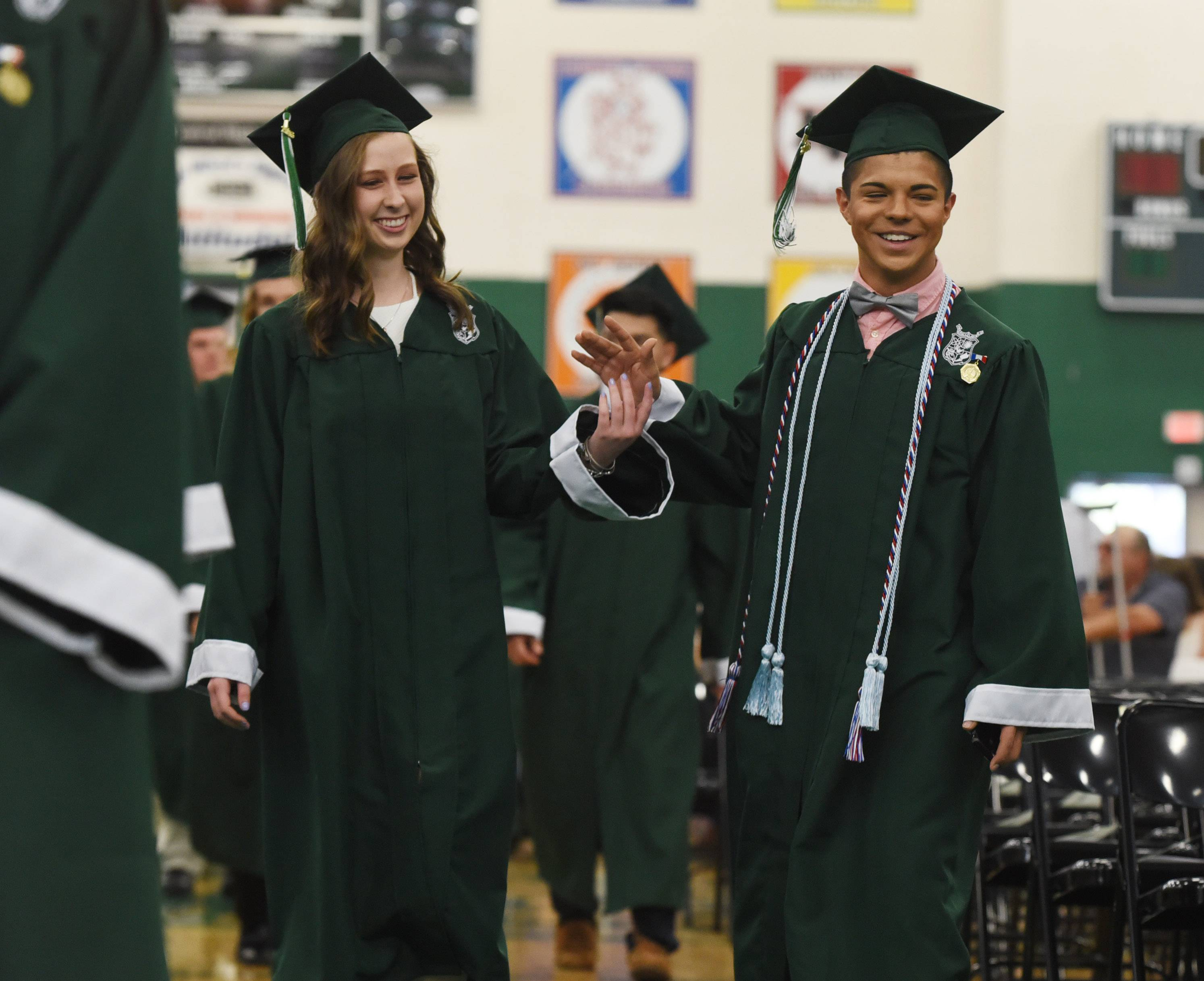 Images from the Grayslake Central High School graduation ceremony on Sunday, May 22 in Grayslake.