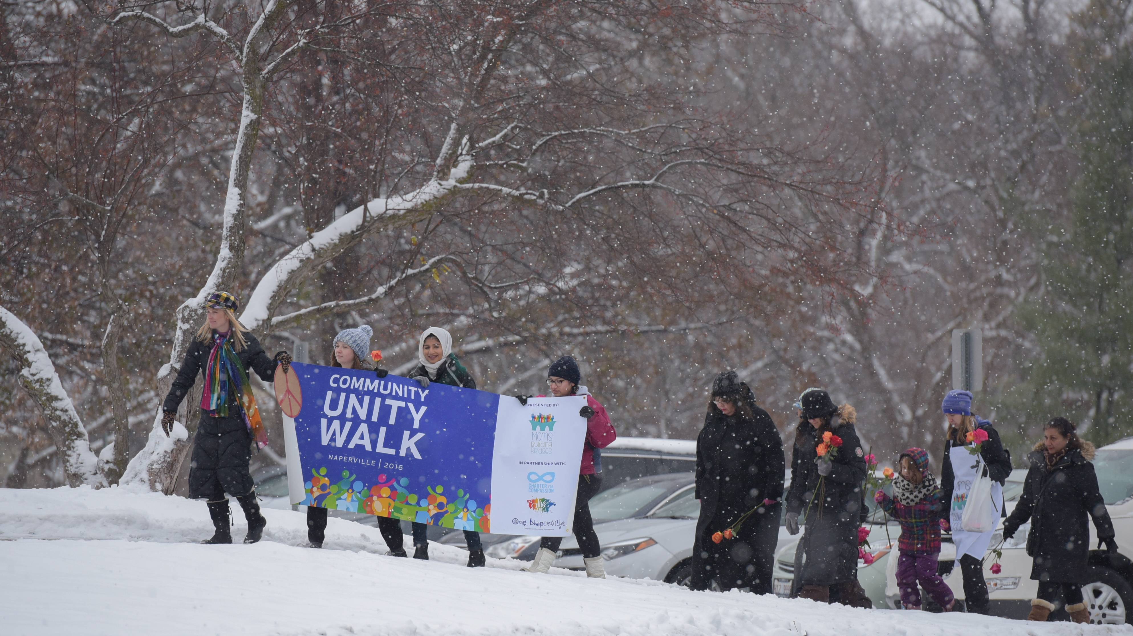 Walk aims to unify the Naperville community