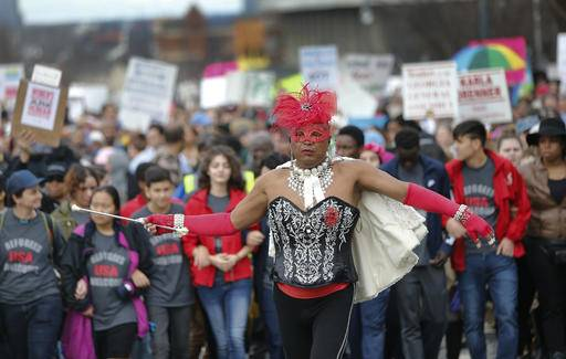 From London to LA, women's marches pack cities big and small