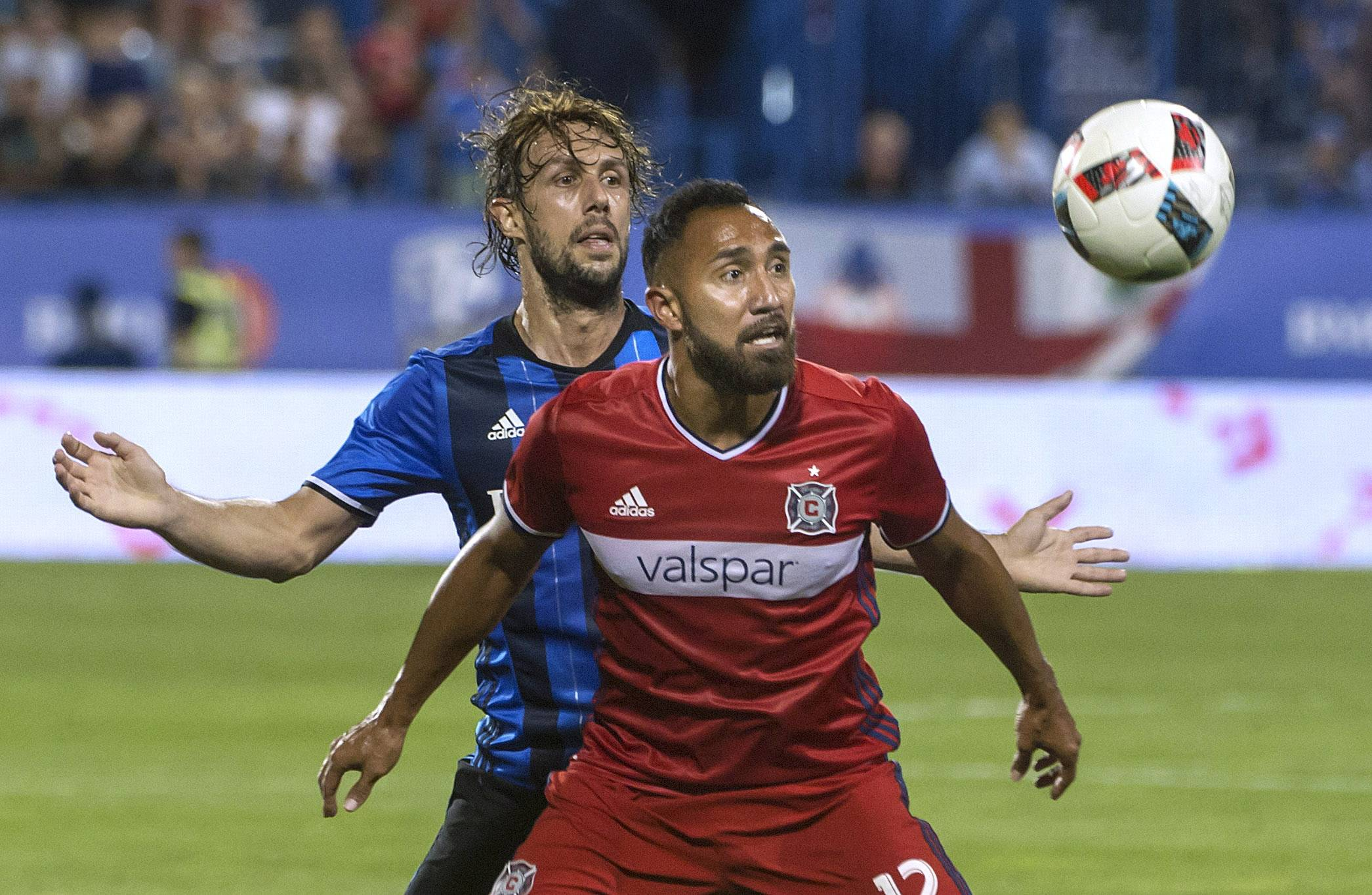 With more depth on the Chicago Fire roster, Arturo Alvarez has played a more limited role so far this season.