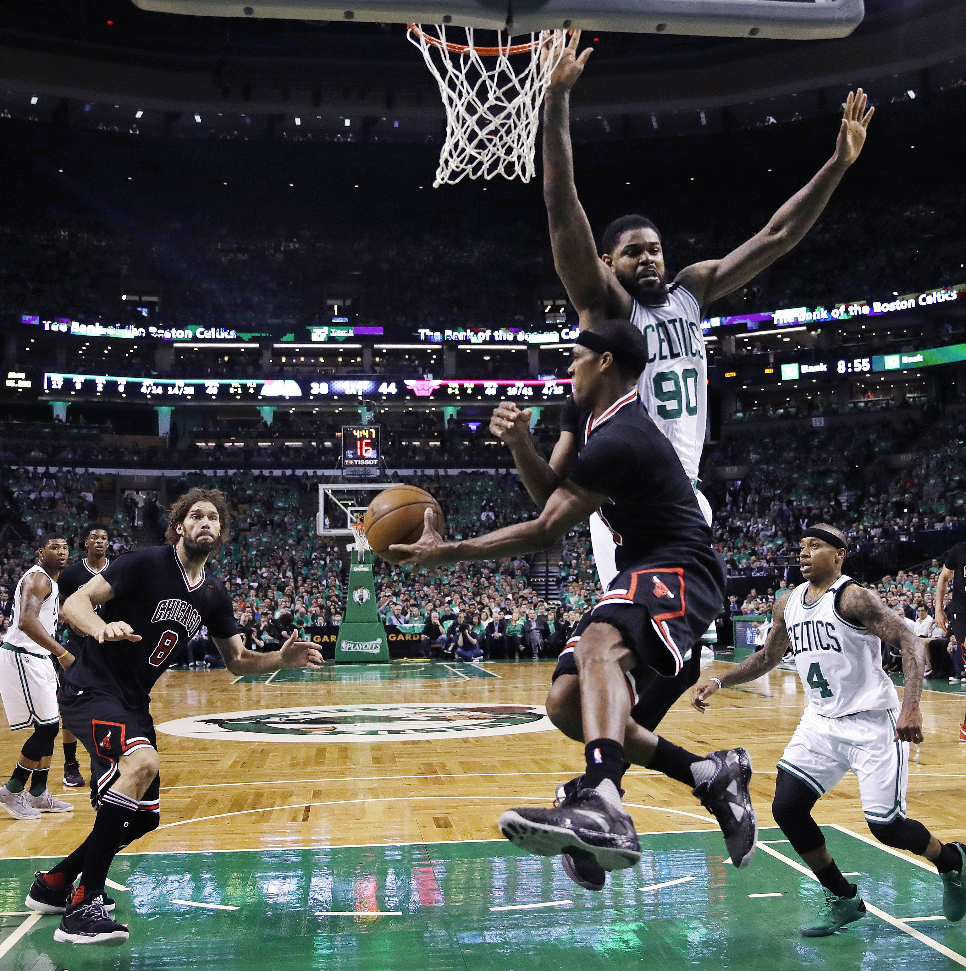 Another stunner in Boston as Bulls take 2-0 series lead
