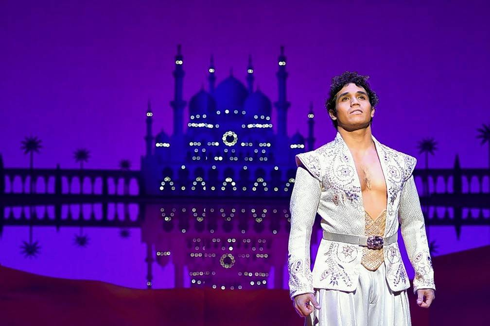 "Broadway veteran Adam Jacobs reprises the titular role he played on Broadway in the national tour of ""Aladdin,"" running through Sept. 10 at the Cadillac Palace Theatre."