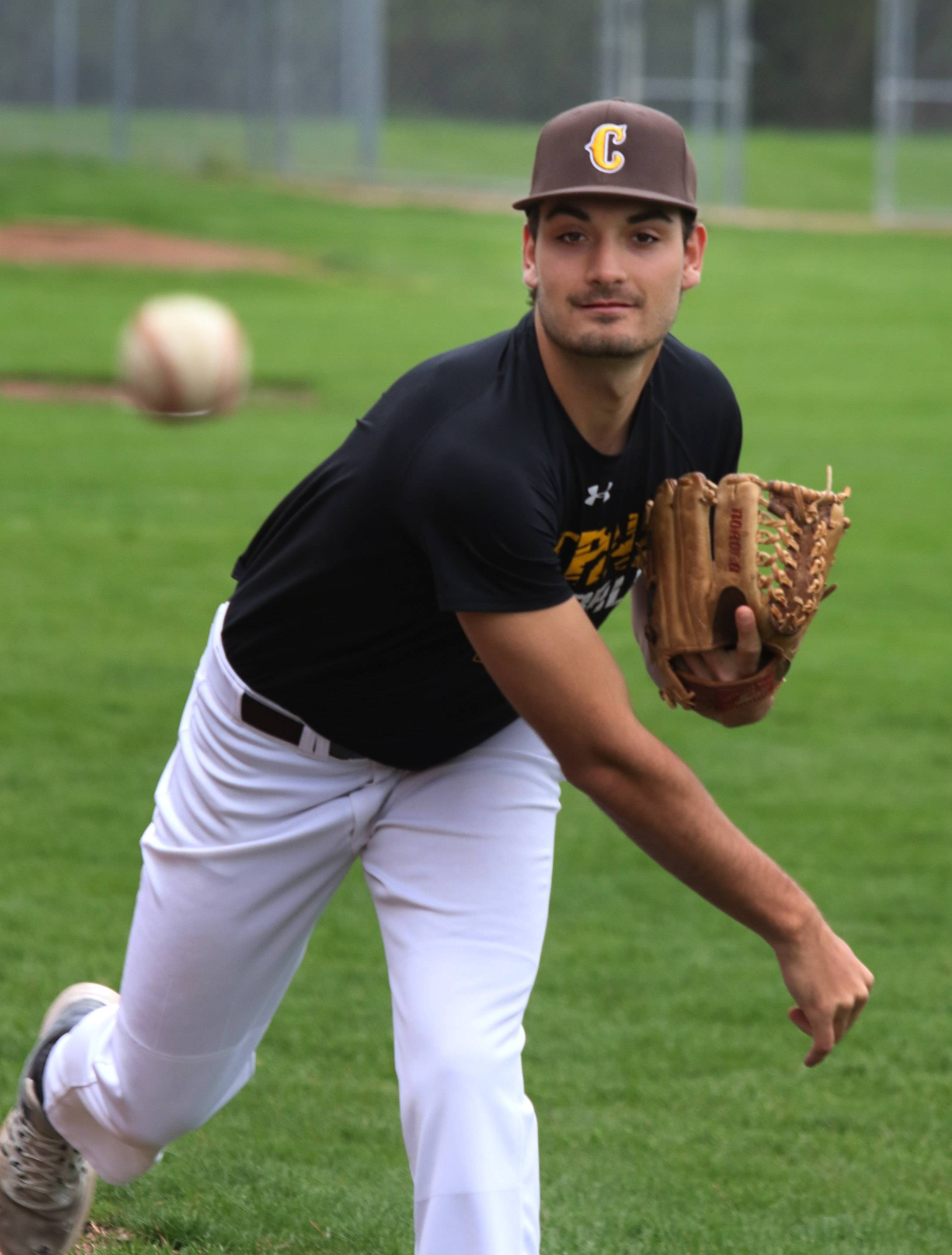 Carmel Catholic's Eddie Pietschmann overcame a pair of shoulder surgeries and is having a standout spring season on the pitching mound.