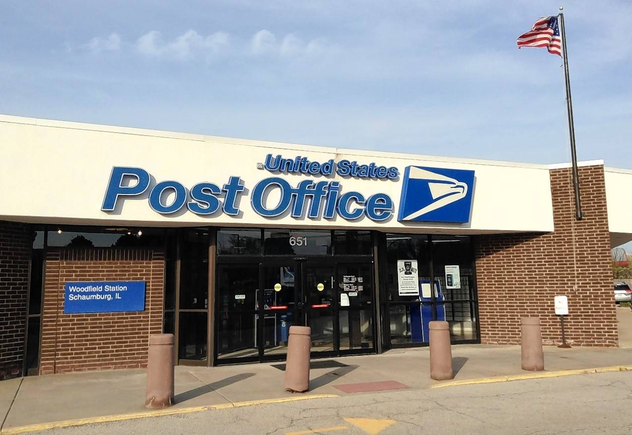 The post office at 651 Mall Drive near Woodfield Mall in Schaumburg is expected to move to a still unidentified site about a third the size within the next 11 months.