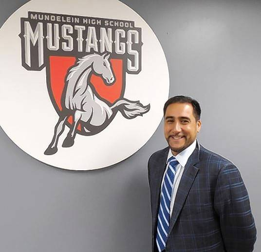 Anthony Crespo has been hired as the new assistant principal at Mundelein High School.