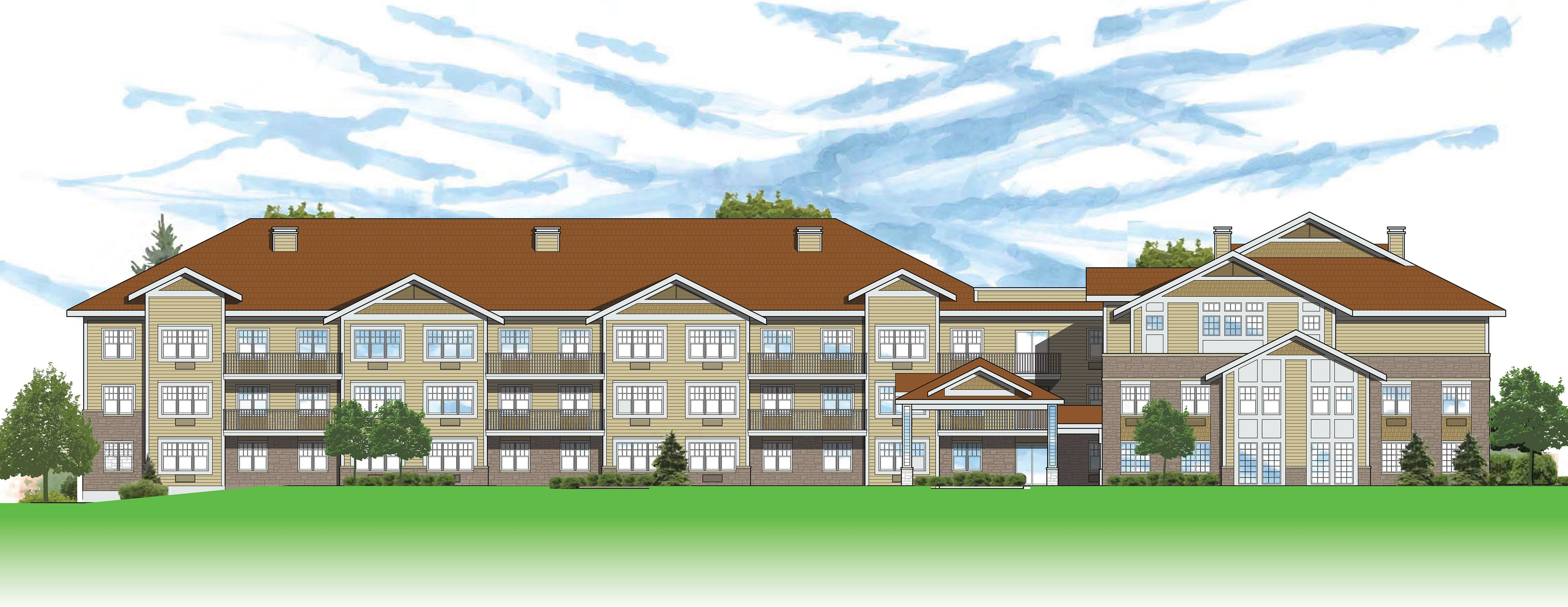 Developers are proposing building a three-story, 60-unit senior apartment complex in Algonquin at Wentworth Drive and West Algonquin Road.