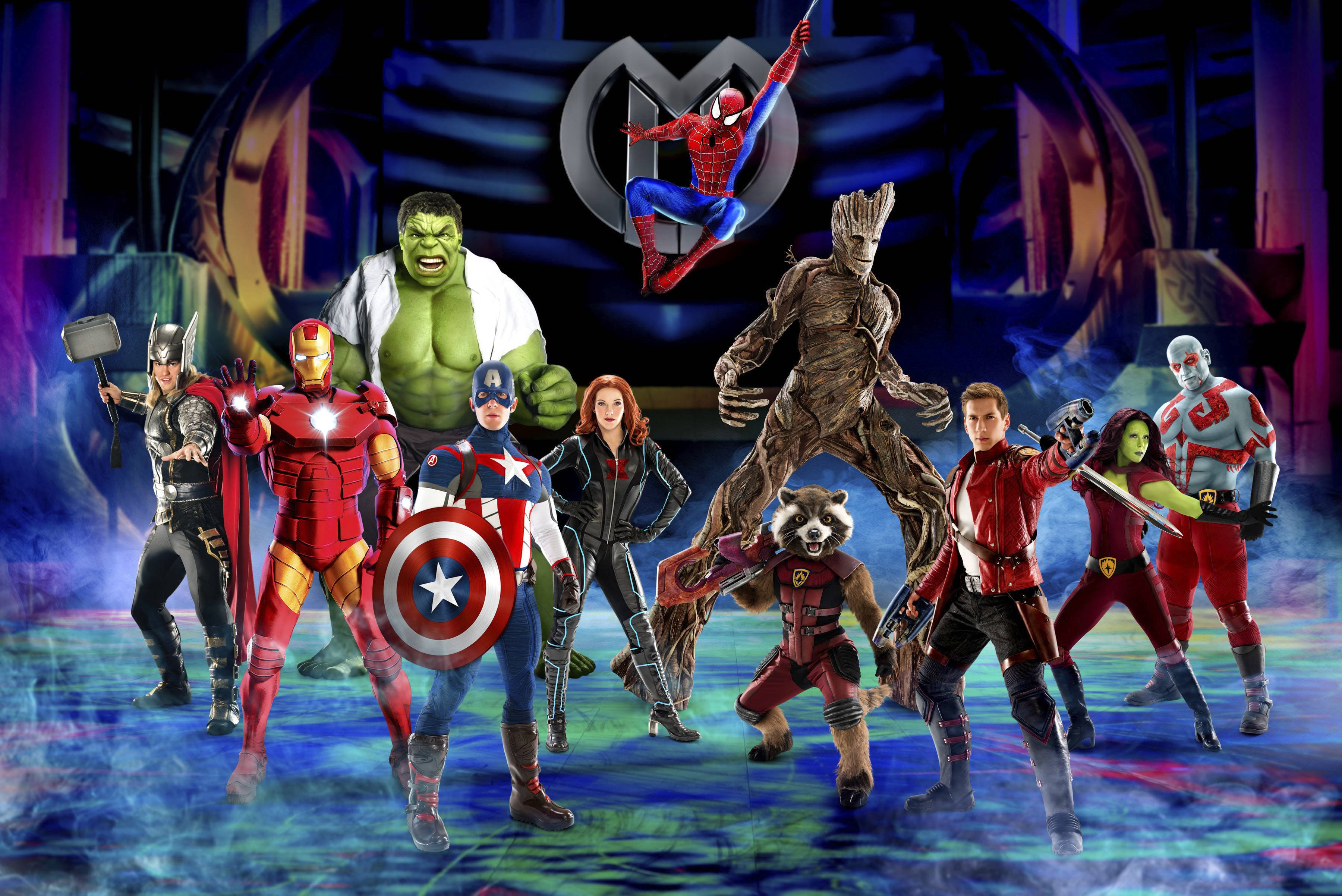 "Fans of the Marvel comic superheroes can see their favorite superheroes in one place in a new live show ""Marvel Universe LIVE! Age of Heroes"" debuting this summer and playing Rosemont's Allstate Arena Nov. 2-5."
