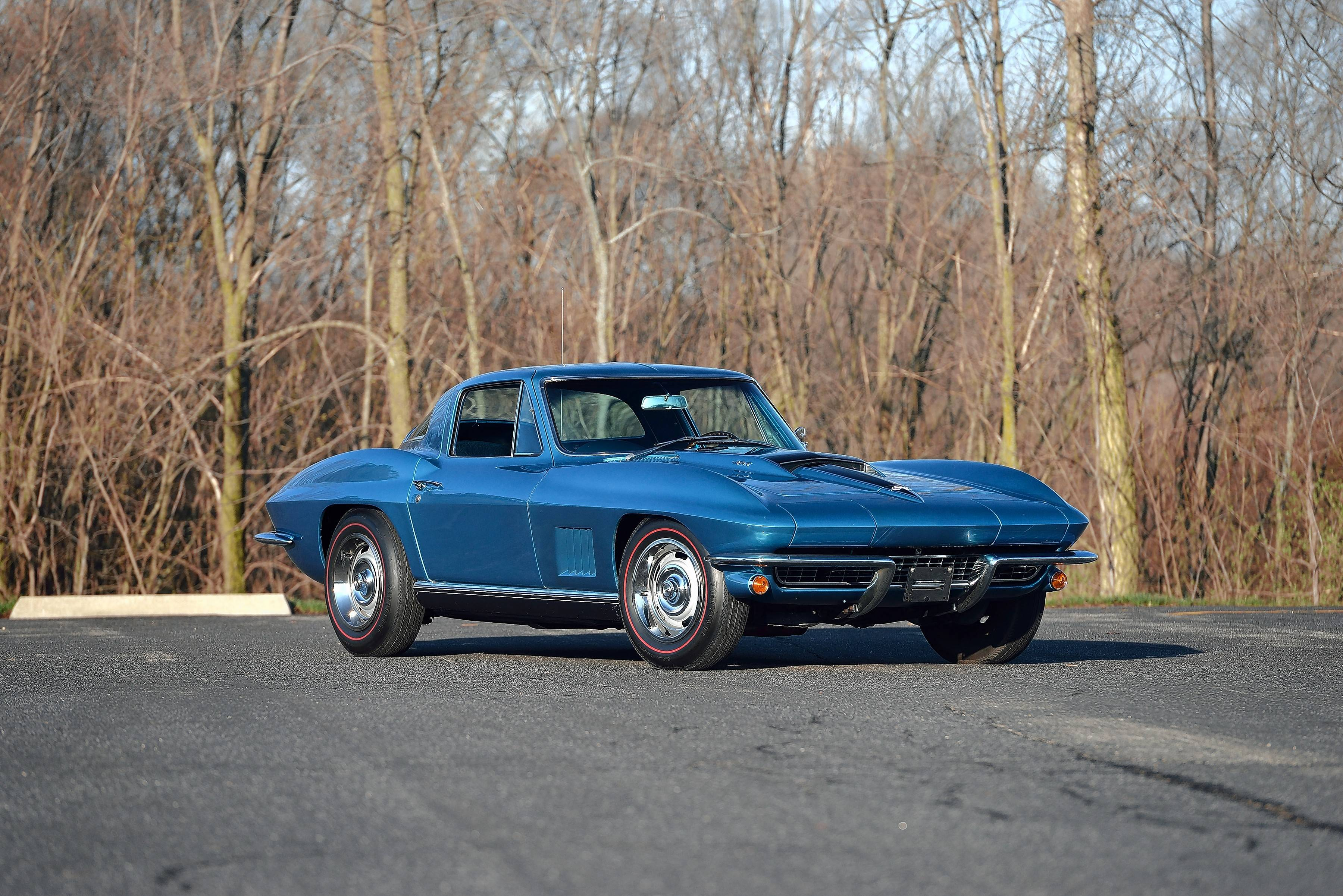 Matt Litavsky has decided it is time to part with his father's 1967 Corvette.