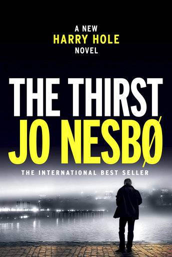 "This cover image released by Alfred A. Knopf shows, ""The Thirst,"" by Jo Nesbo. (Alfred A. Knopf via AP)"