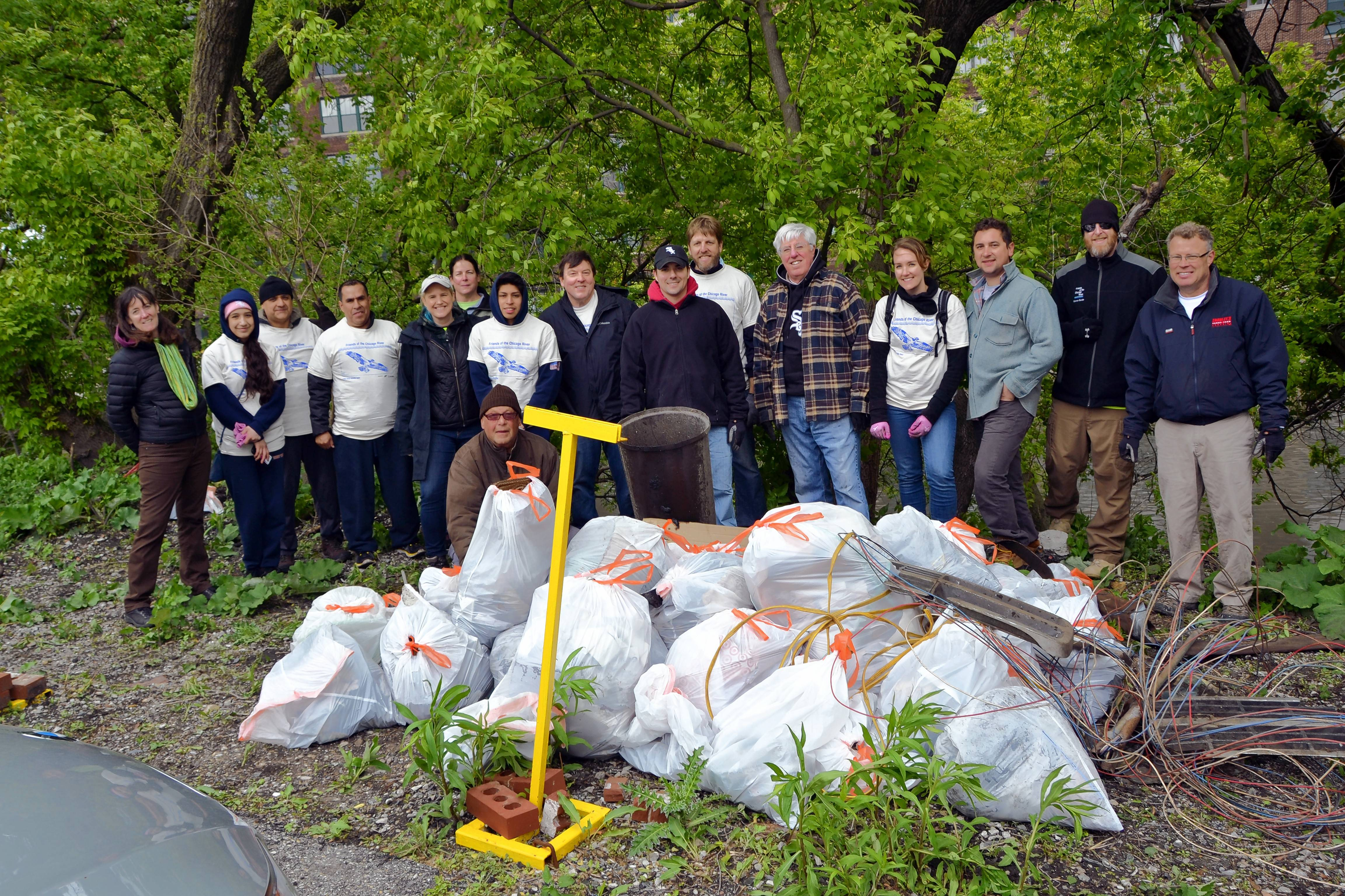 Friends of the Chicago River has lured as many as 60,000 volunteers to help keep the Chicago River clean and restore habitat for native plants and wildlife.
