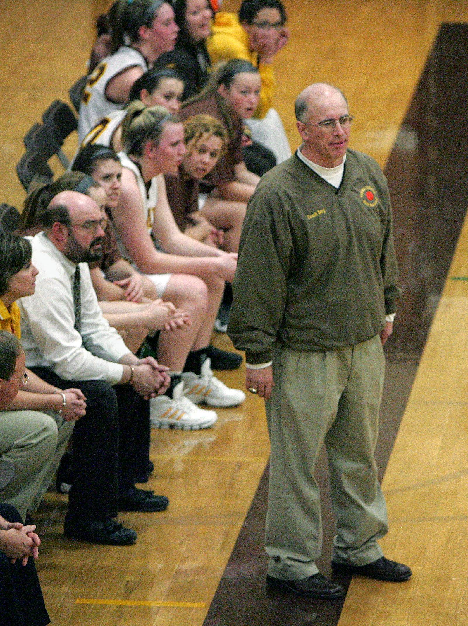 Ben Berg is in as Carmel Catholic's girls basketball coach, following Kelly Perz.
