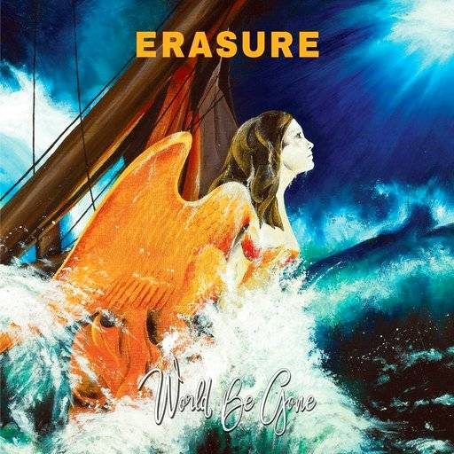 "This cover image released by Mute Records shows, ""World Be Gone,"" the latest release by Erasure. (Mute via AP)"