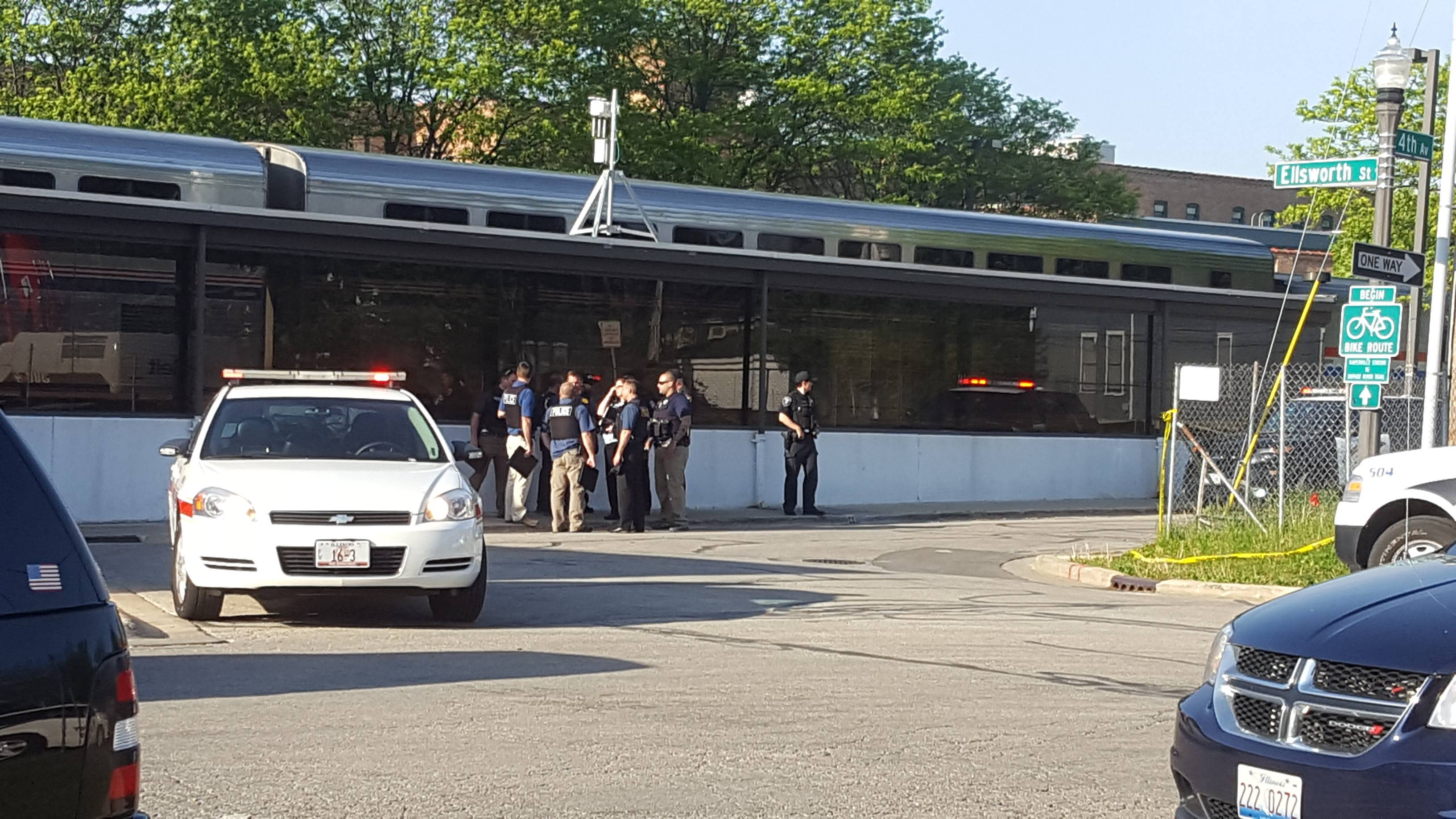 Police: Passengers stopped man who shot conductor at Naperville Metra station