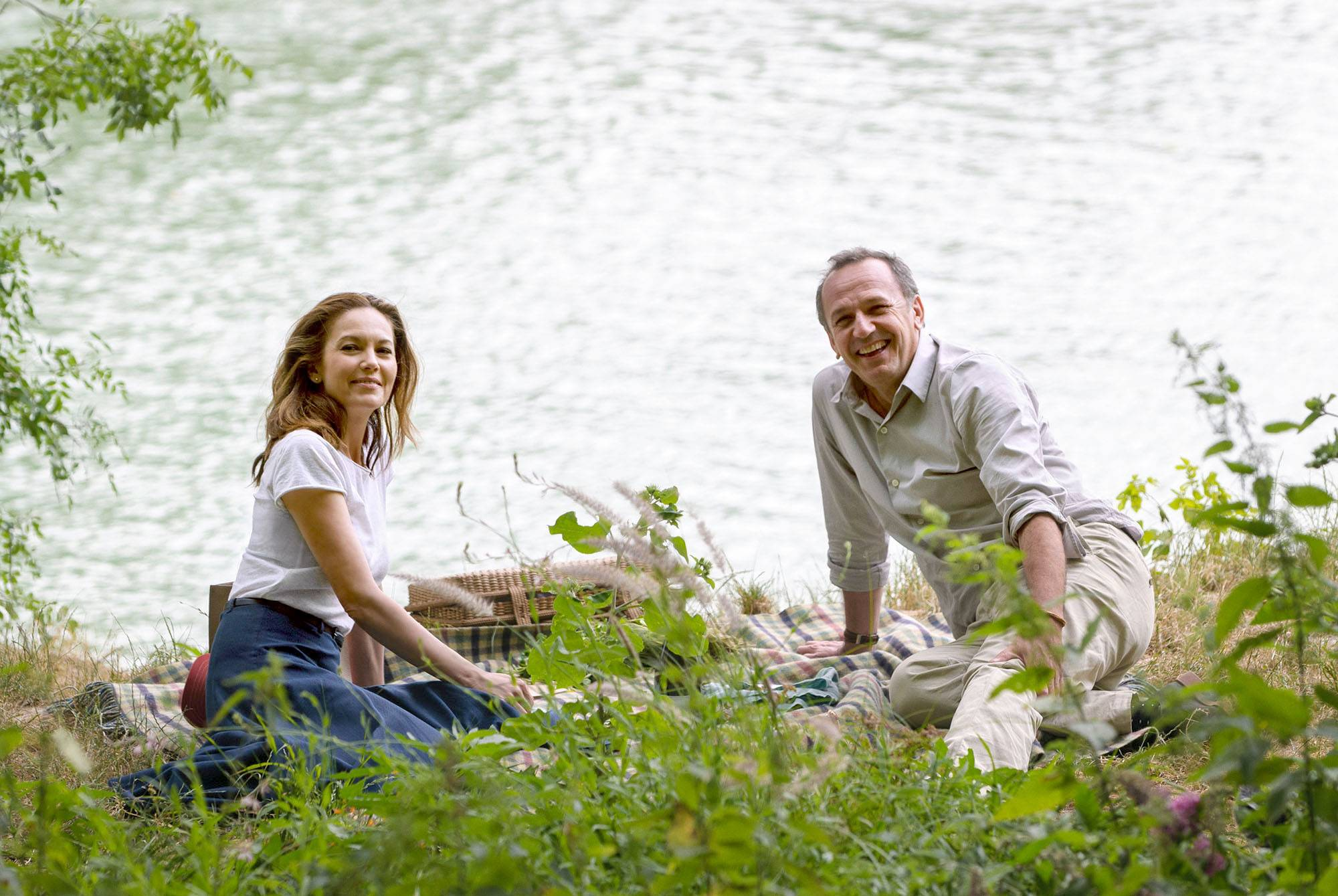 "Anne (Diane Lane) shares an unexpected French road trip with Jacques (Arnaud Viard) in ""Paris Can Wait."""