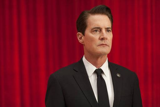 "This image released by Showtime shows Kyle MacLachlan from the revival of ""Twin Peaks."" The series debuts Sunday at 9 p.m. EDT. (Suzanne Tenner/Showtime via AP)"