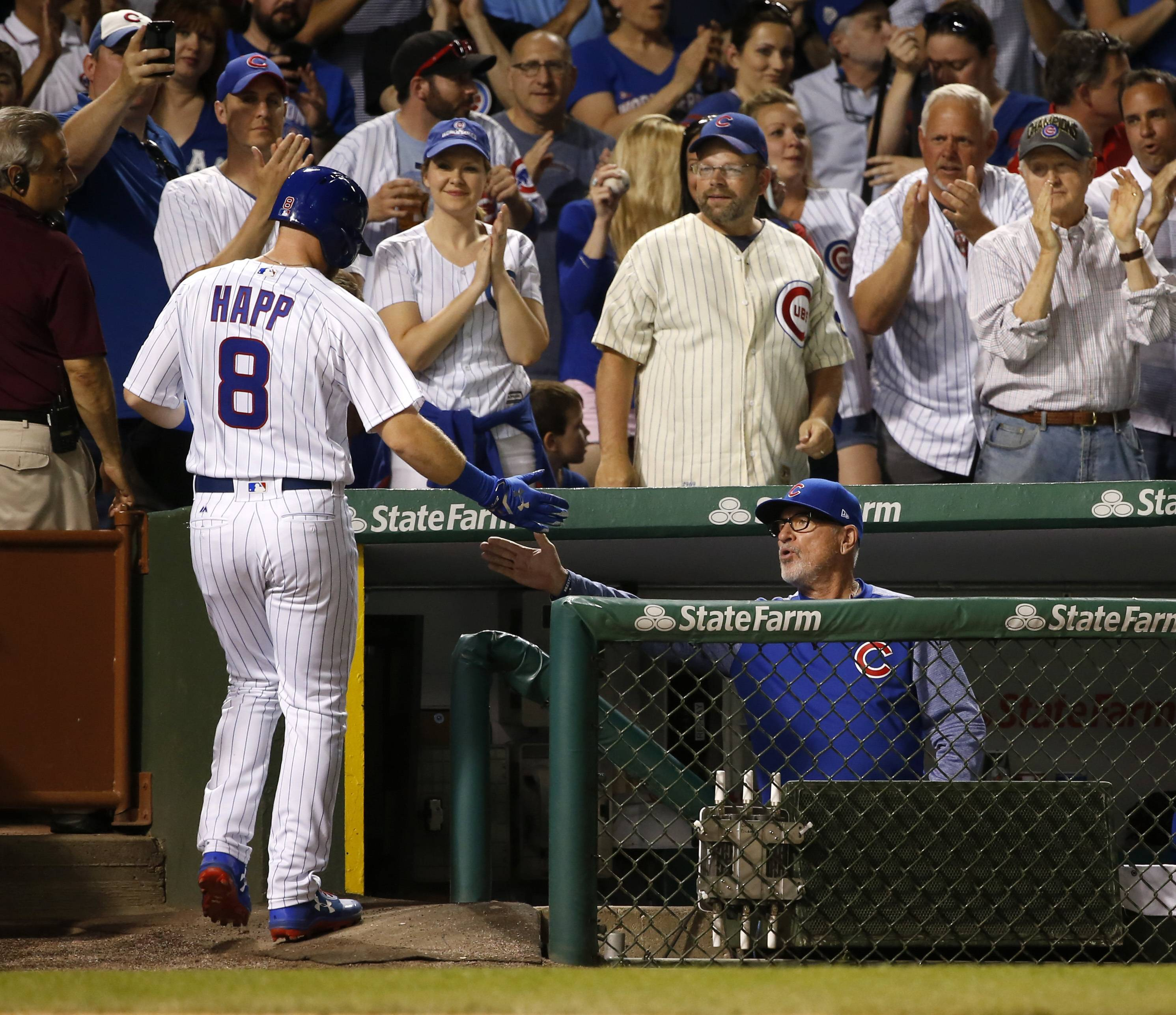 Happ stays, but is Schwarber done leading off for Chicago Cubs?