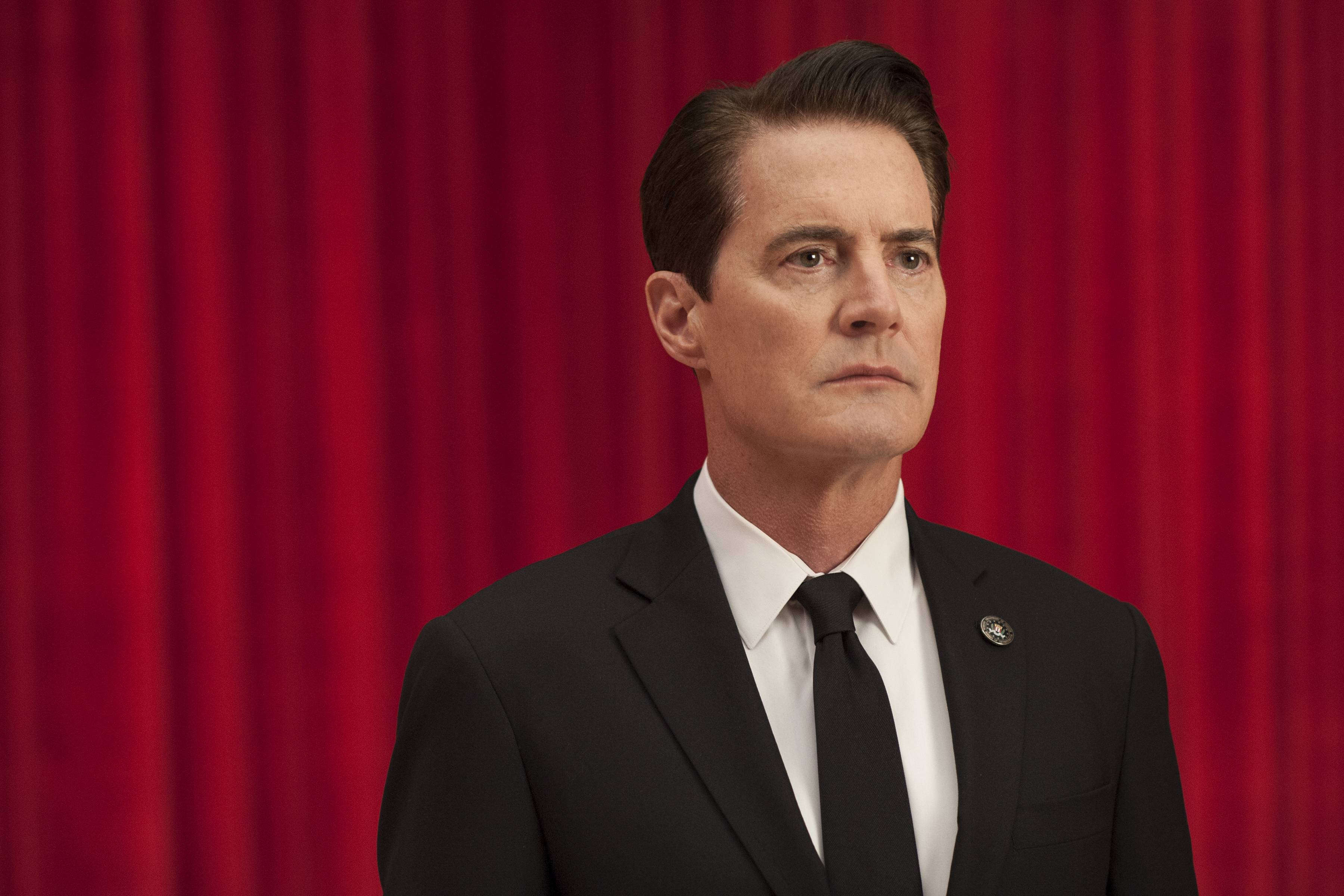 "FBI Special Agent Dale Cooper (Kyle MacLachlan) is back in ""Twin Peaks,"" which Showtime is reviving for 18 episodes starting at 8 p.m. Sunday, May 21."