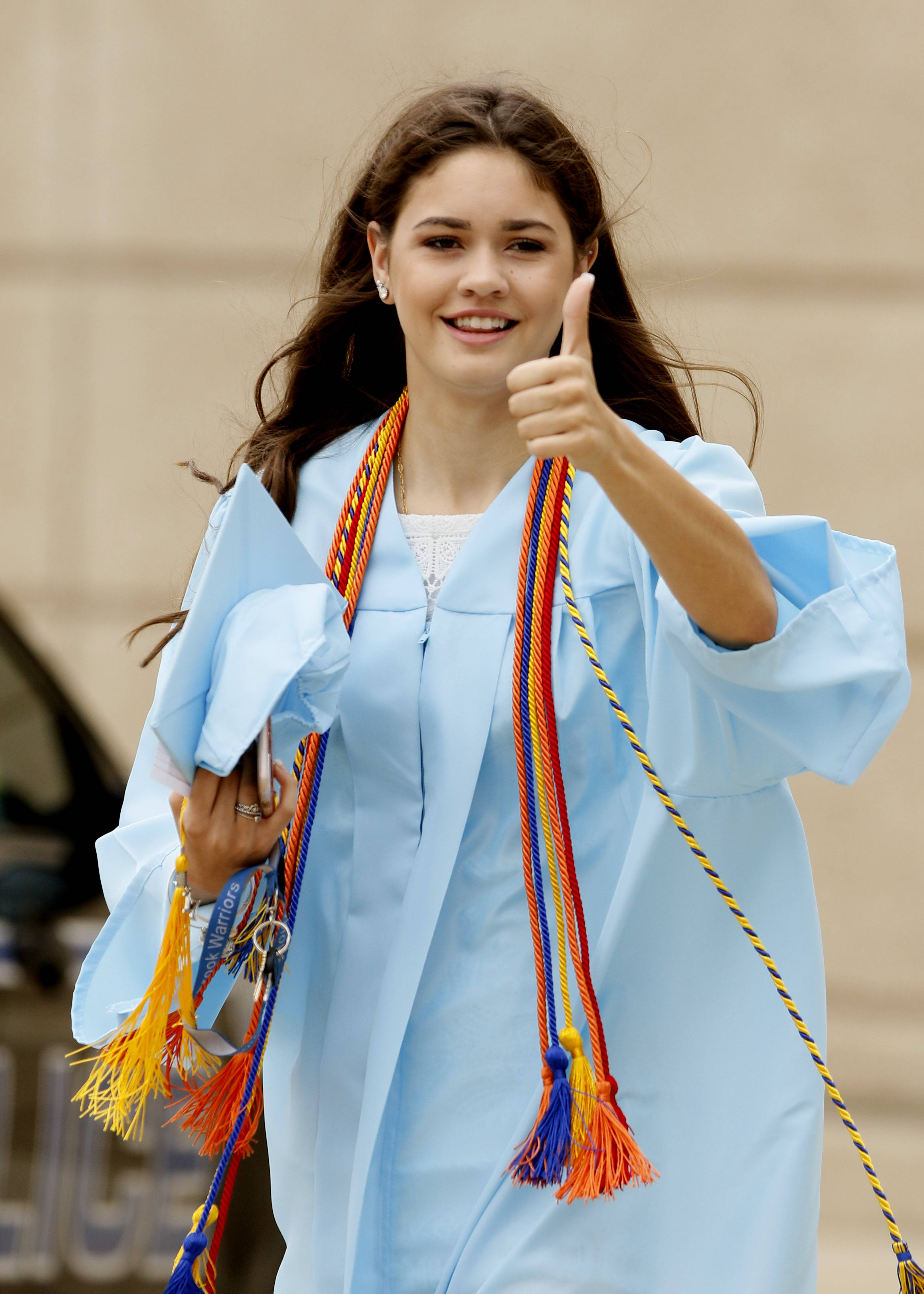 Images from the Willowbrook High School graduation on Sunday, May 21, in Villa Park.