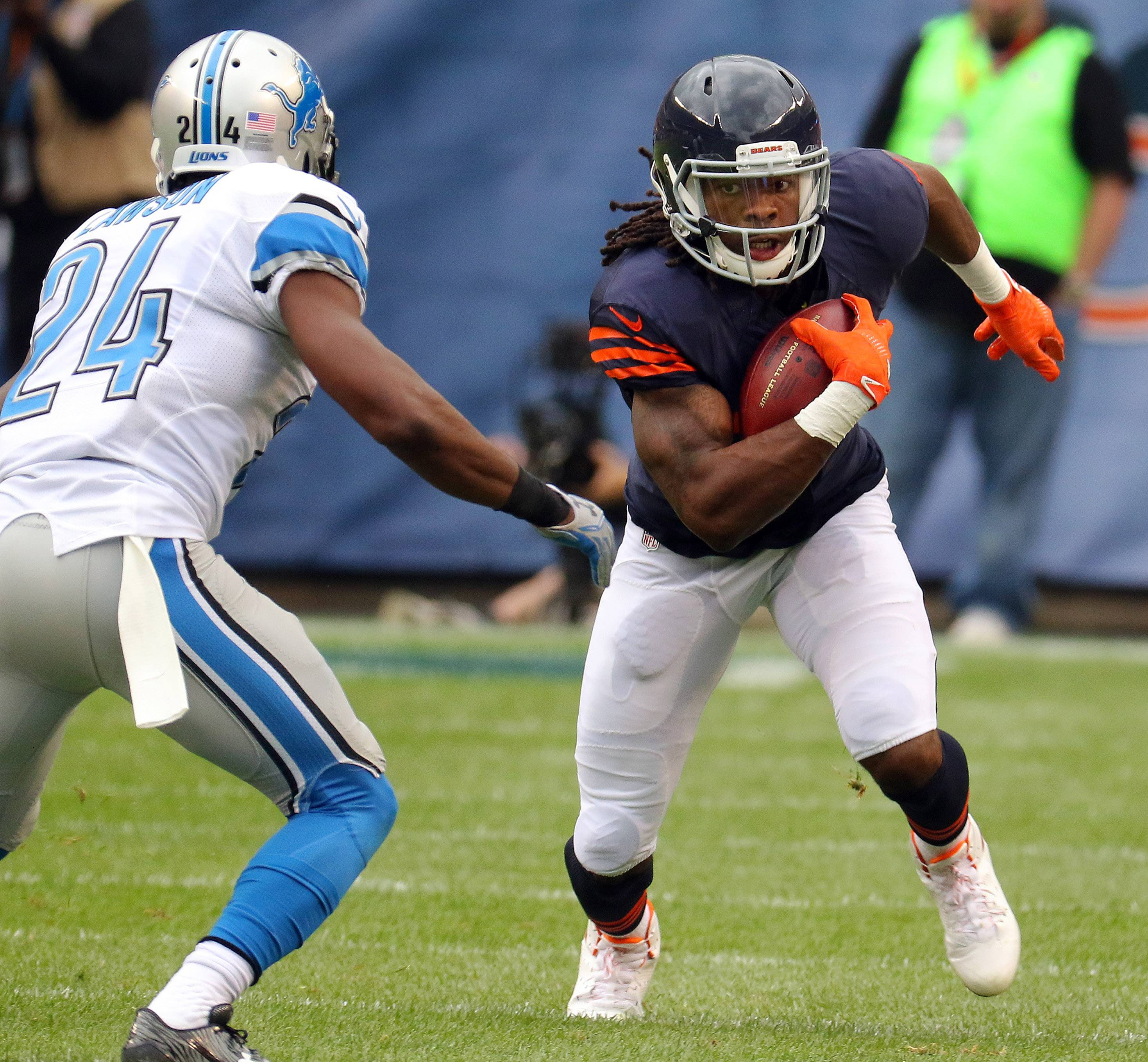 Bears' wide receiver White still limited by injury
