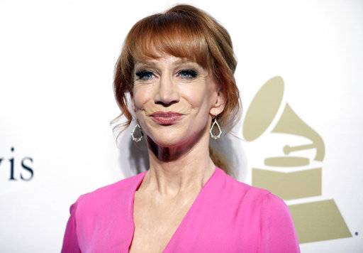 "Kathy Griffin says she knew her new photo shoot with photographer Tyler Shields would ""make noise."" Griffin told photographer Shields in a video on his Twitter page Tuesday that they will have to move to Mexico to avoid federal prison for their latest collaboration."