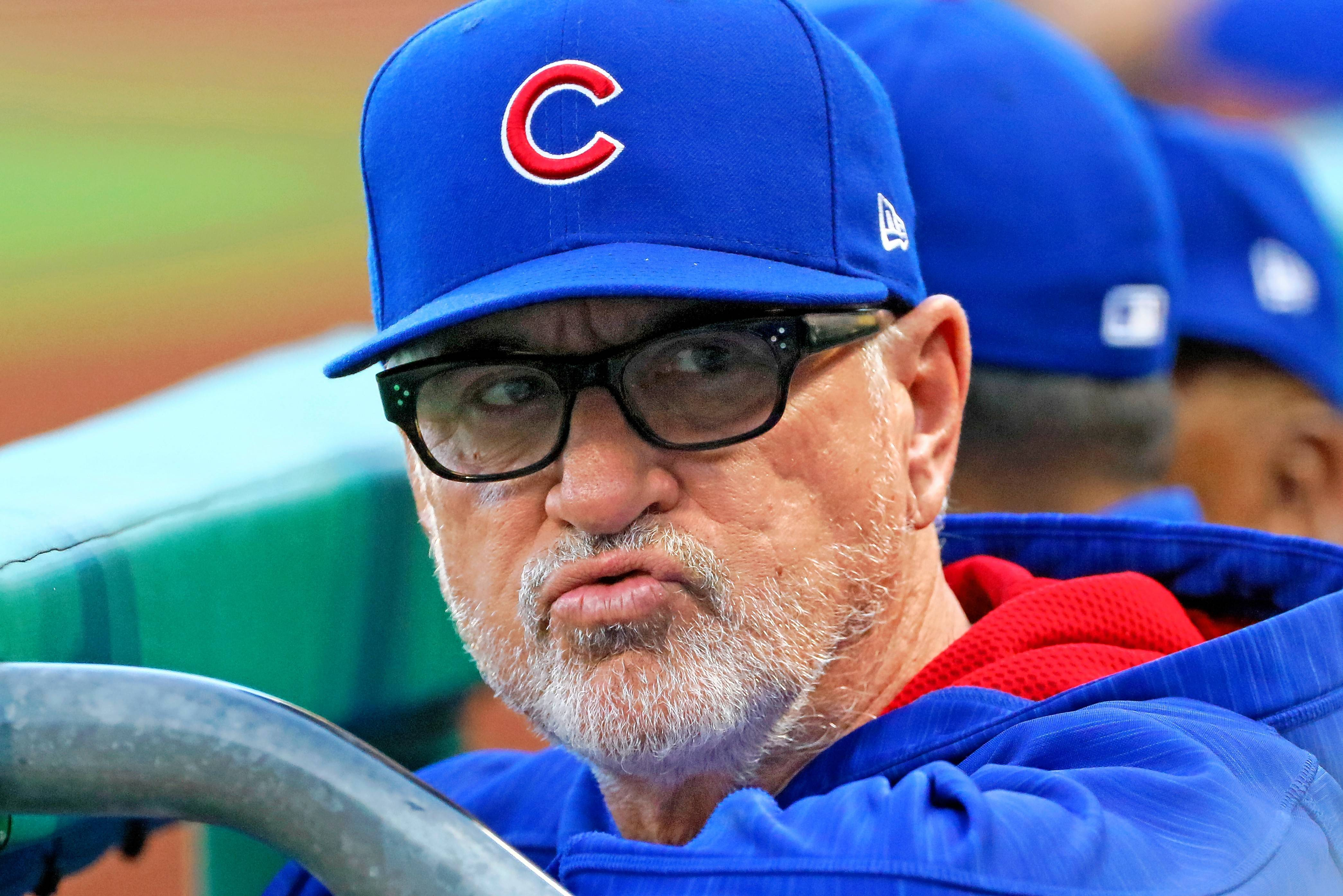 Chicago Cubs manager Joe Maddon believes his team's dominant run-differential last season was the product of a strong starting pitching staff more than its offense. The Cubs are far below last season's pace in many areas.