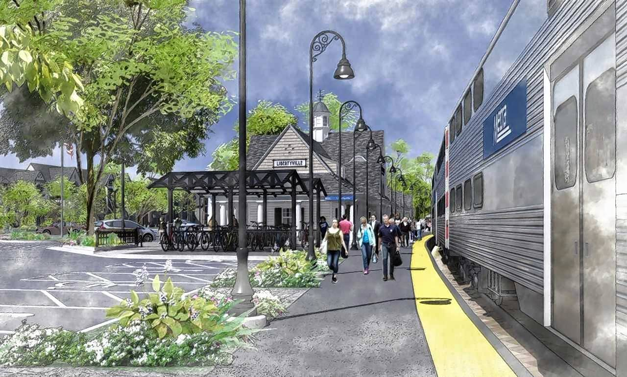 Libertyville weighs Metra station upgrades, new downtown housing