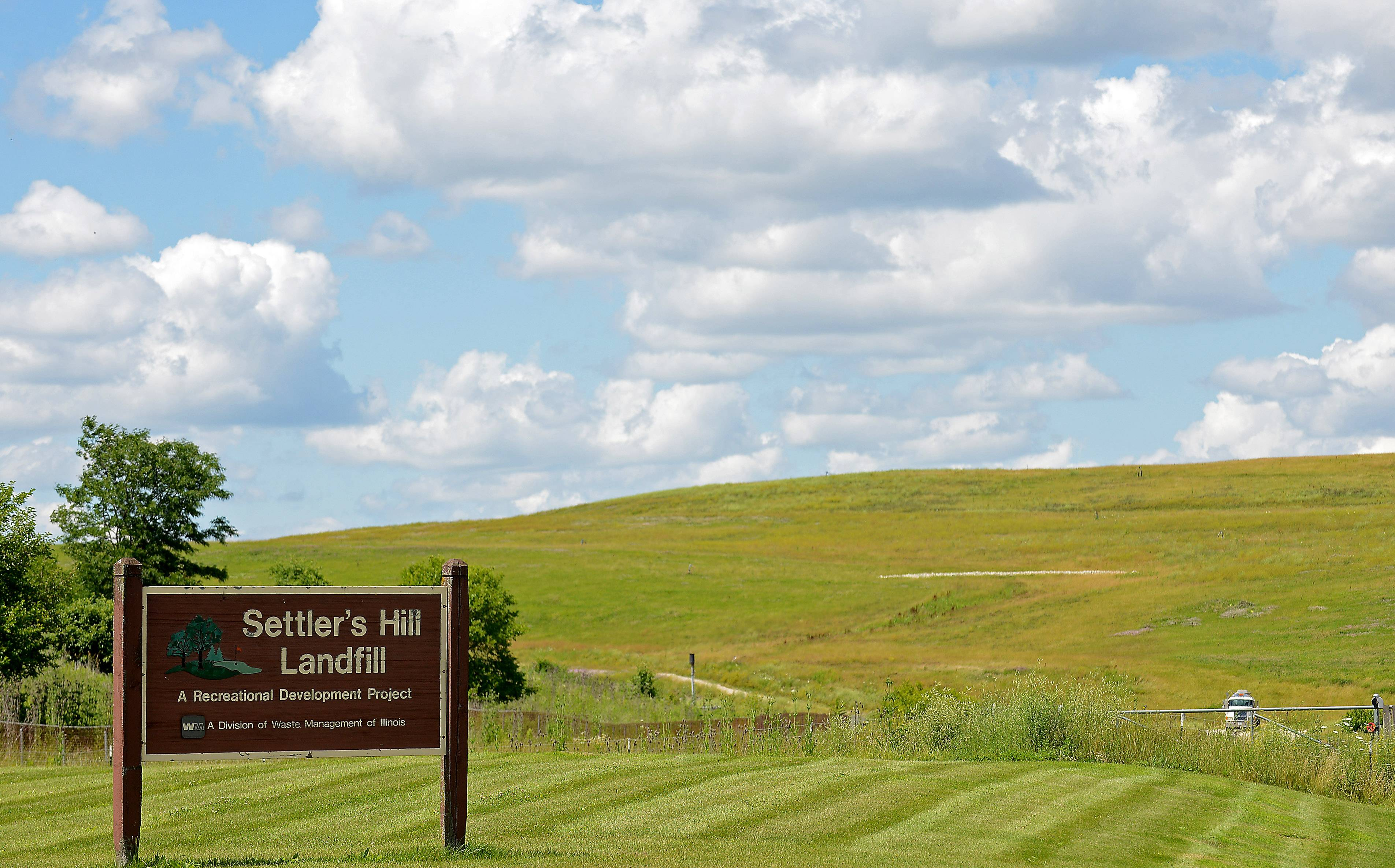 The Kane County Forest Preserve District and Waste Management now share operation of the former Settler's Hill landfill in Geneva. The site could become home to a new cross-country facility with construction starting this fall.