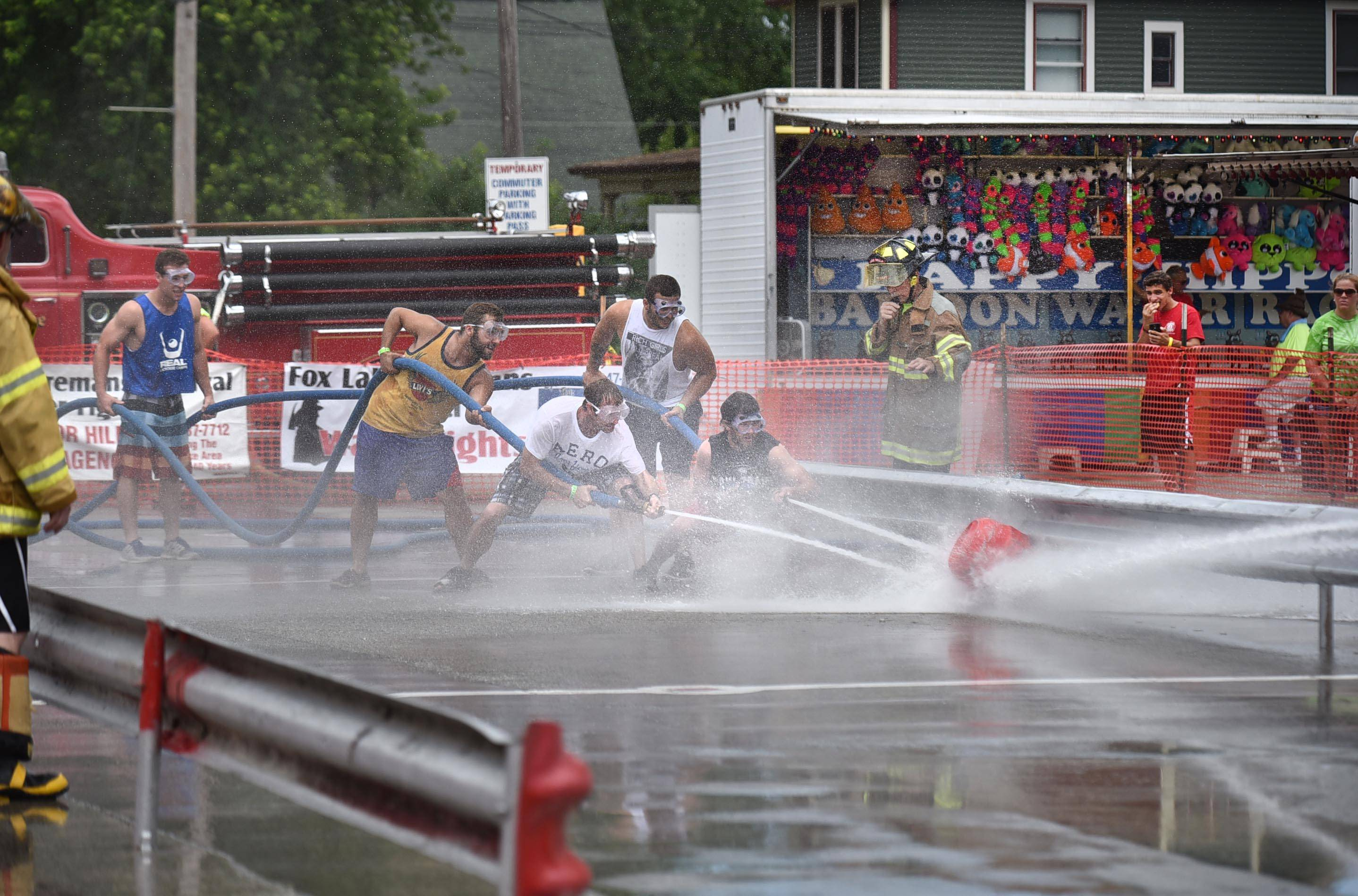 The Fox Lake Fireman's Festival returns this weekend with water fights and more.