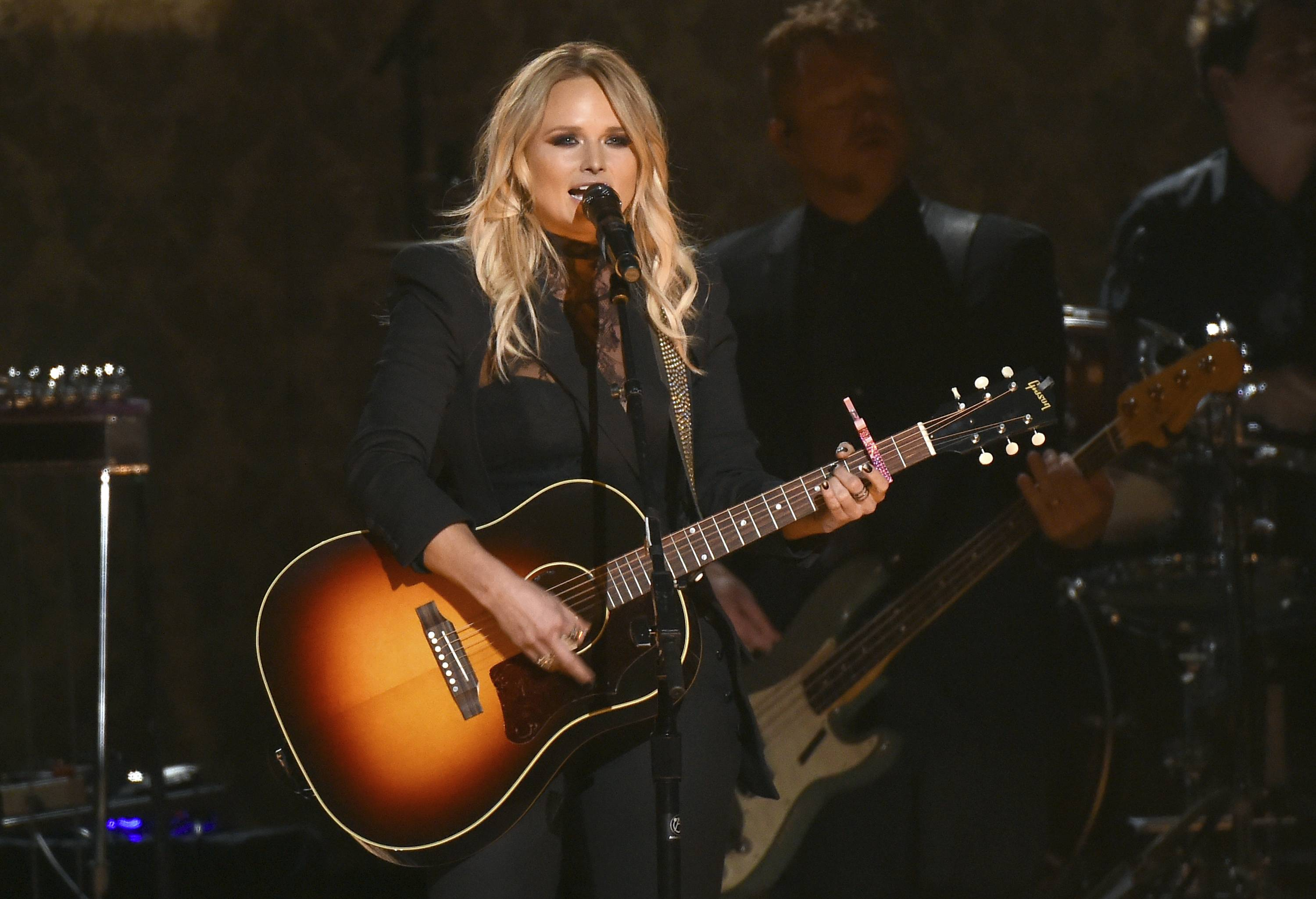Miranda Lambert appears as part of the Country LakeShake music festival at Huntington Bank Pavilion at Northerly Island in Chicago.