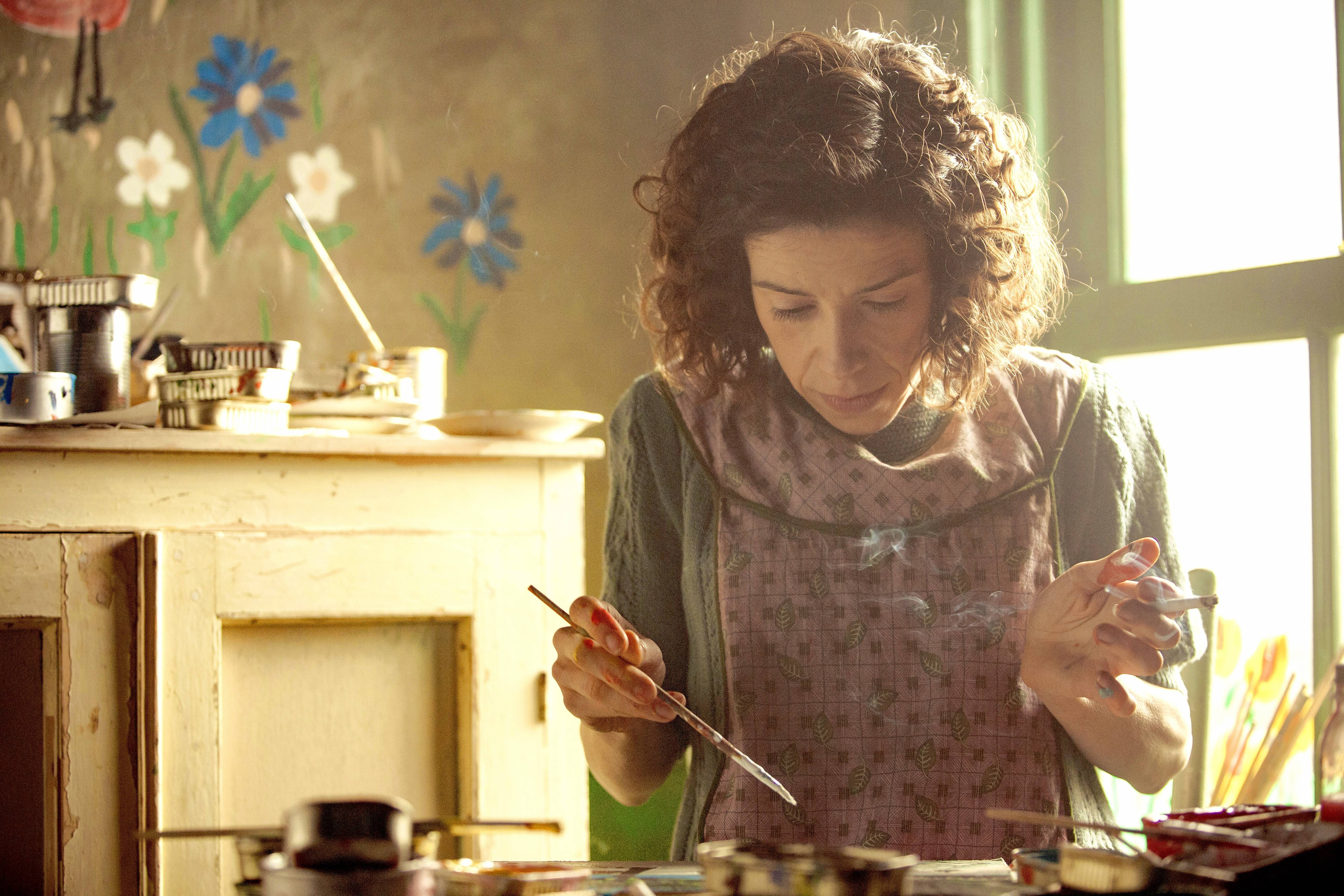 "A Nova Scotia woman (Sally Hawkins) discovers she has a gift for painting in the fact-based drama ""Maudie."""