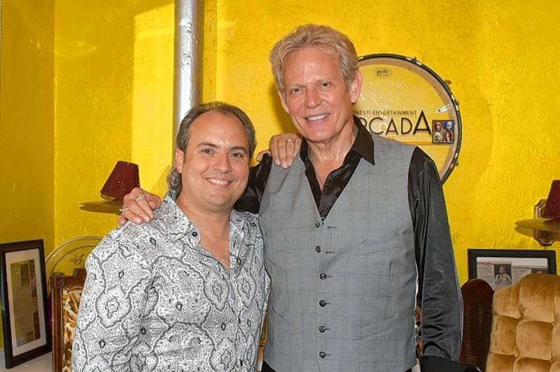 Ron Onesti, left, recently spoke with Don Felder about how the Eagles were formed.