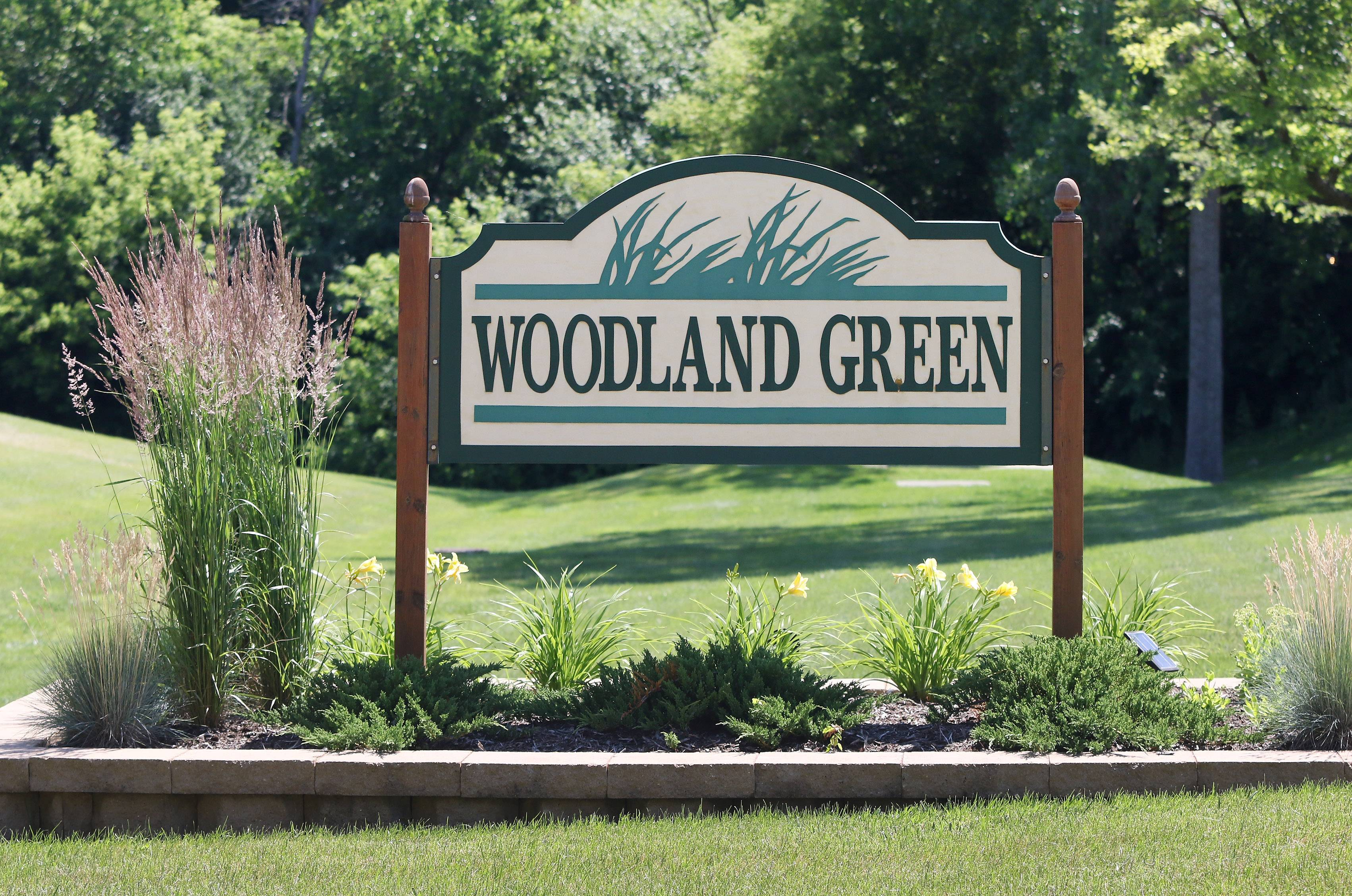 Woodland Green in Fox Lake features 175 attached ranches and two-story townhouses.