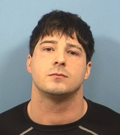 John Cichy, Schaumburg police officer arrested in DuPage County on Jan. 16, 2013.