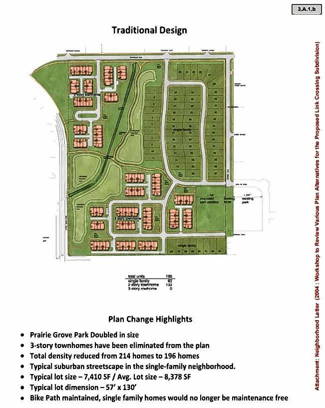 This is a sketch of one option K. Hovnanian Homes presented to the Buffalo Grove Planning and Zoning Commission.