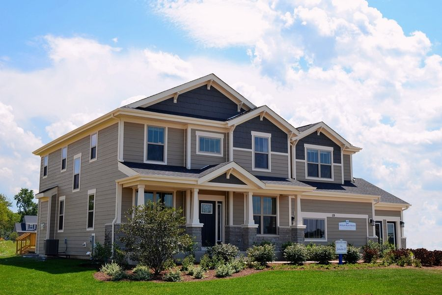 The four-bedroom Jericho II model is priced from $515,990 at Stonebridge, a new community in Hawthorn Woods.