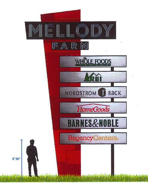 Sign change for Mellody Farm intended as bold statement in Vernon Hills