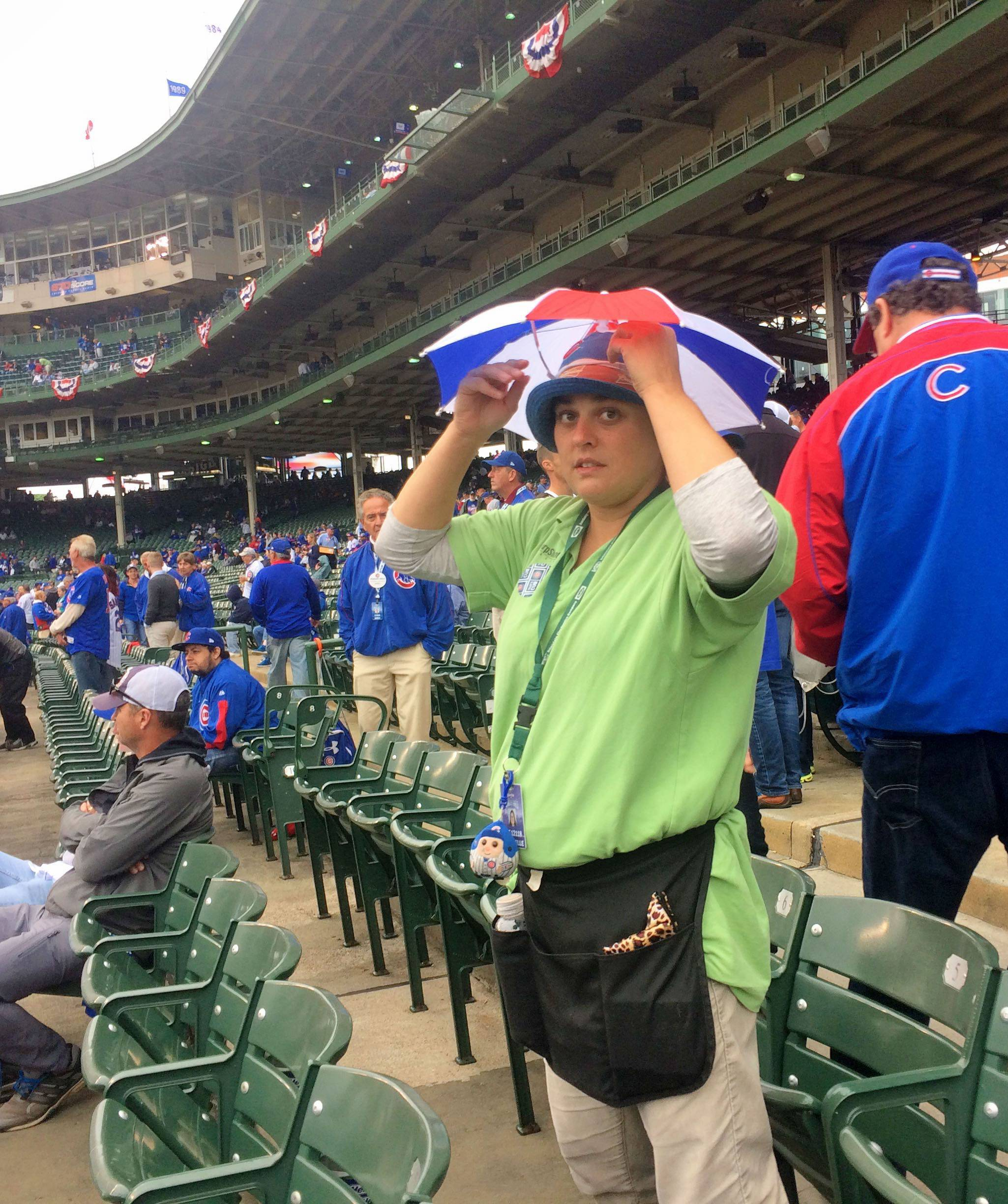 Constable: Once a friend, rain keeps Cubs from clinching