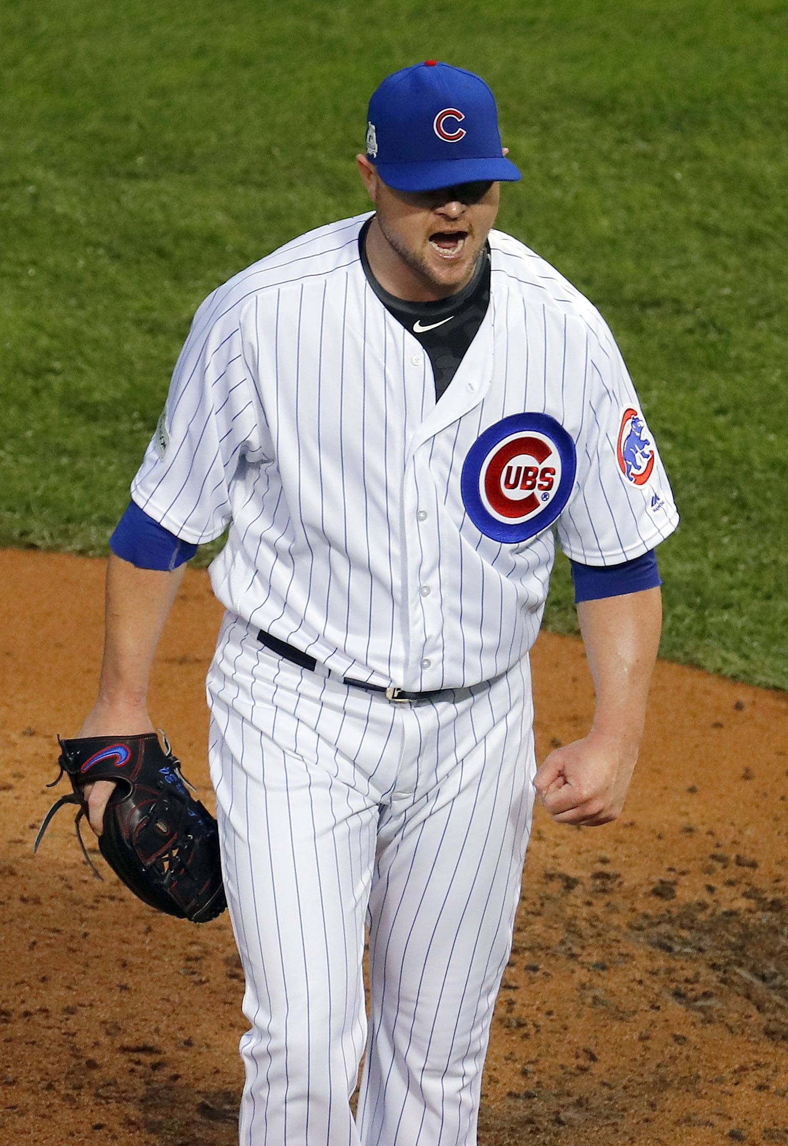 Chicago Cubs' Lester not surprised NLDS moving on to Game 5