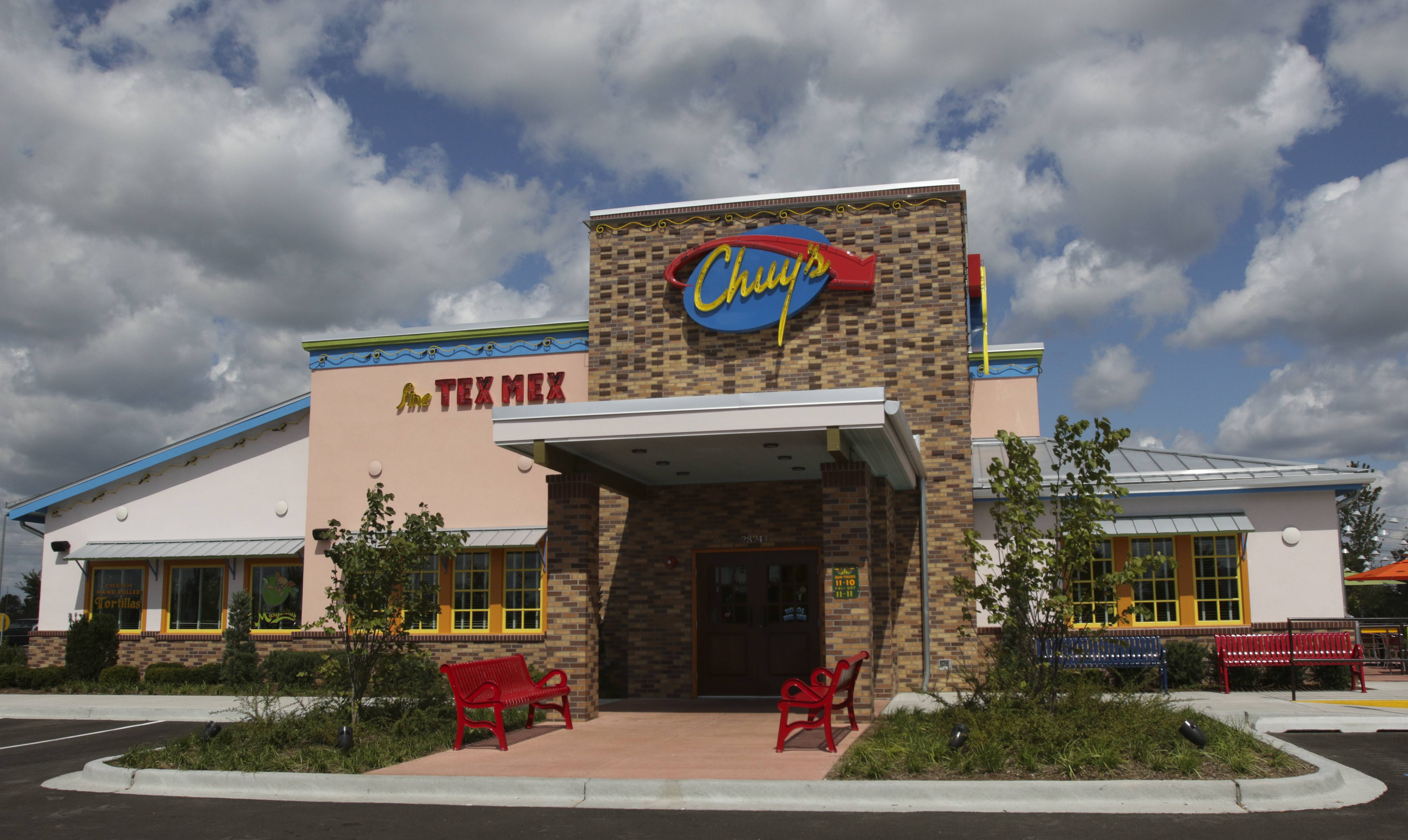 Chuy's Tex-Mex restaurant, which recently opened this location in Warrenville, will open another outside Woodfield Mall in Schaumburg on Tuesday, Oct. 17.
