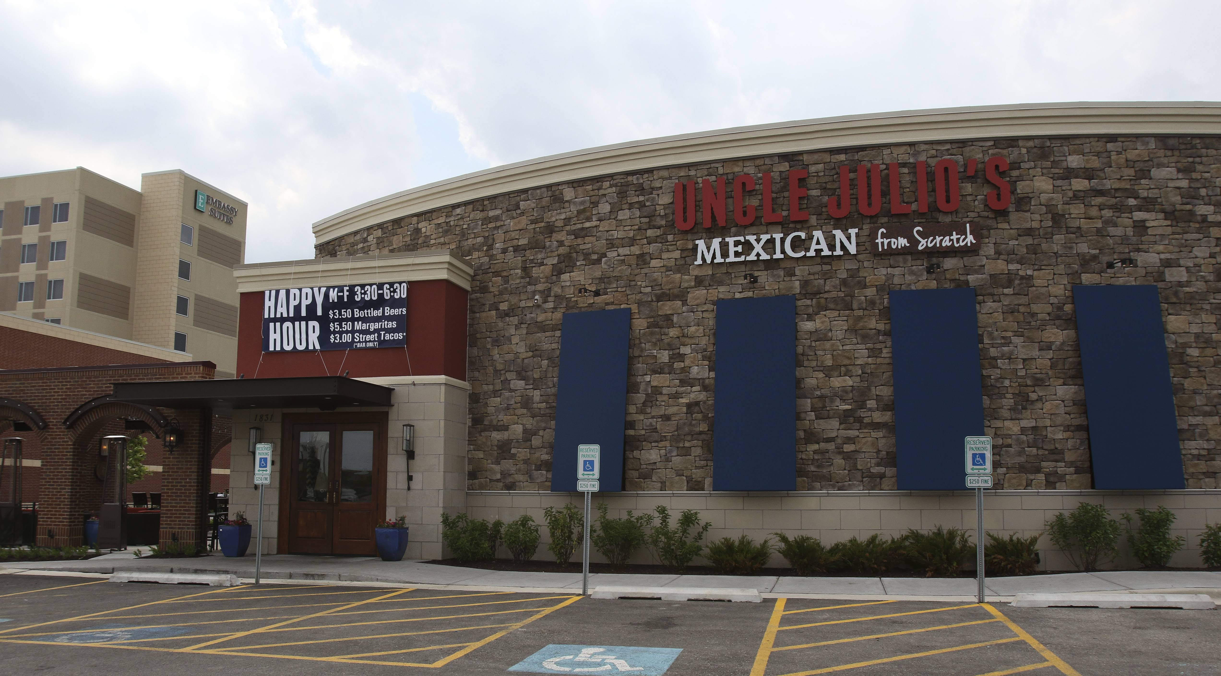 A large private equity firm has purchased the Uncle Julio's chain, including this one in Naperville.
