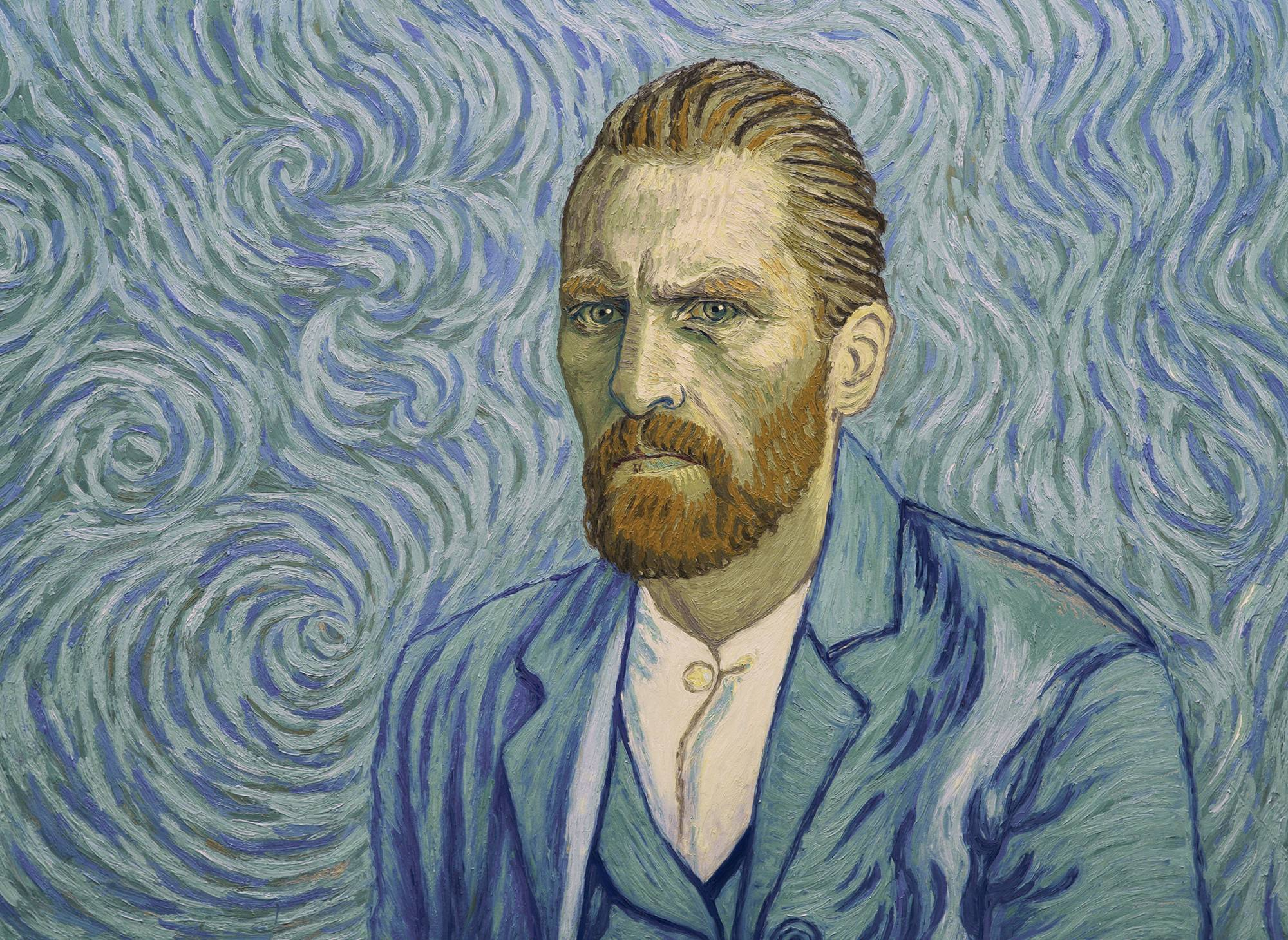 "The paintings of Vincent Van Gogh (voice of Robert Gulaczyk) inspire ""Loving Vincent,"" an animated film in which each frame is a painting created in the style of the artist."