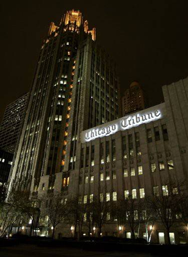 The Chicago Tribune announced a round of layoffs Thursday designed to restructure its city and suburban newsroom operations.